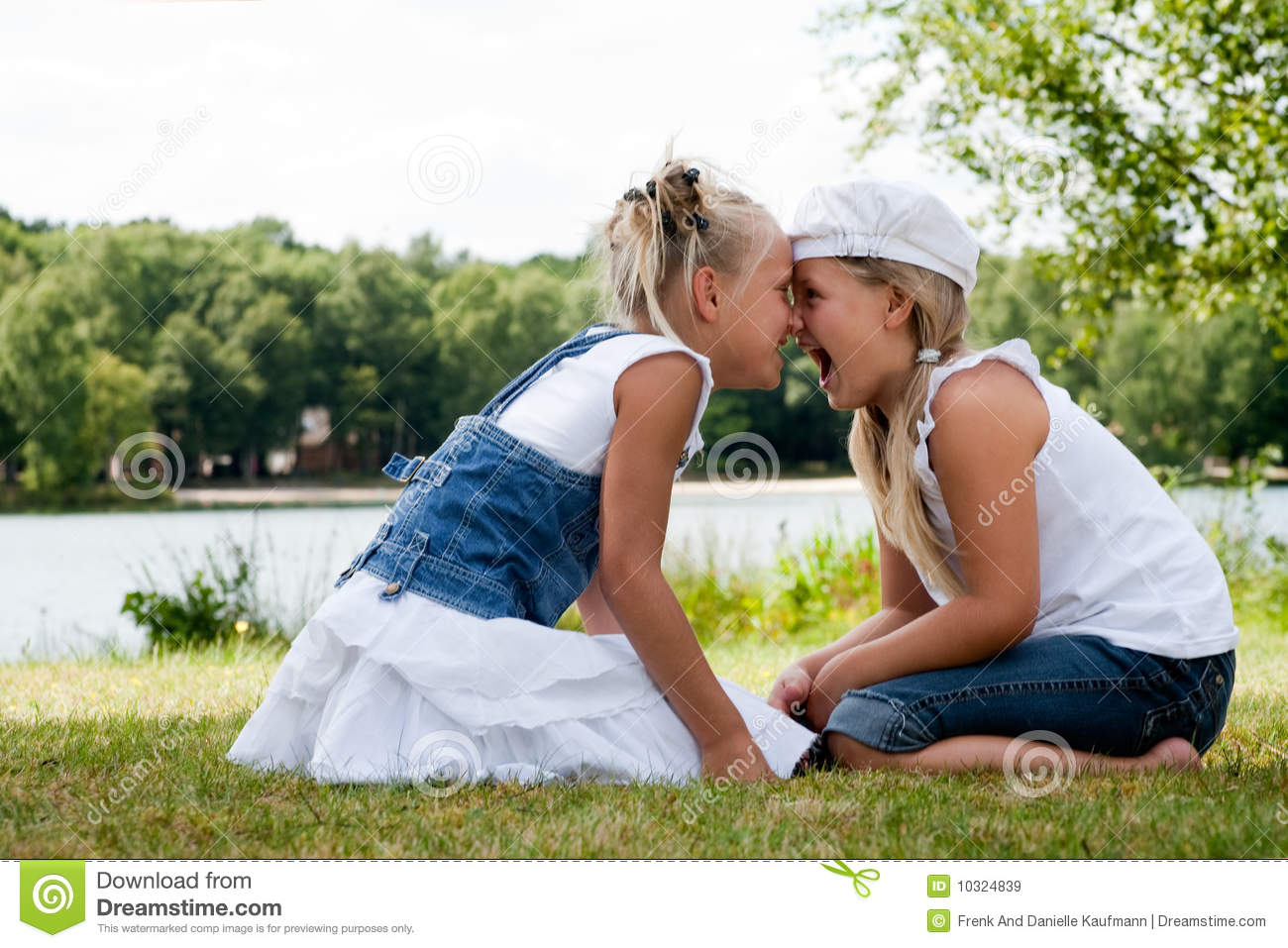 nose hug royalty free stock images   image 10324839