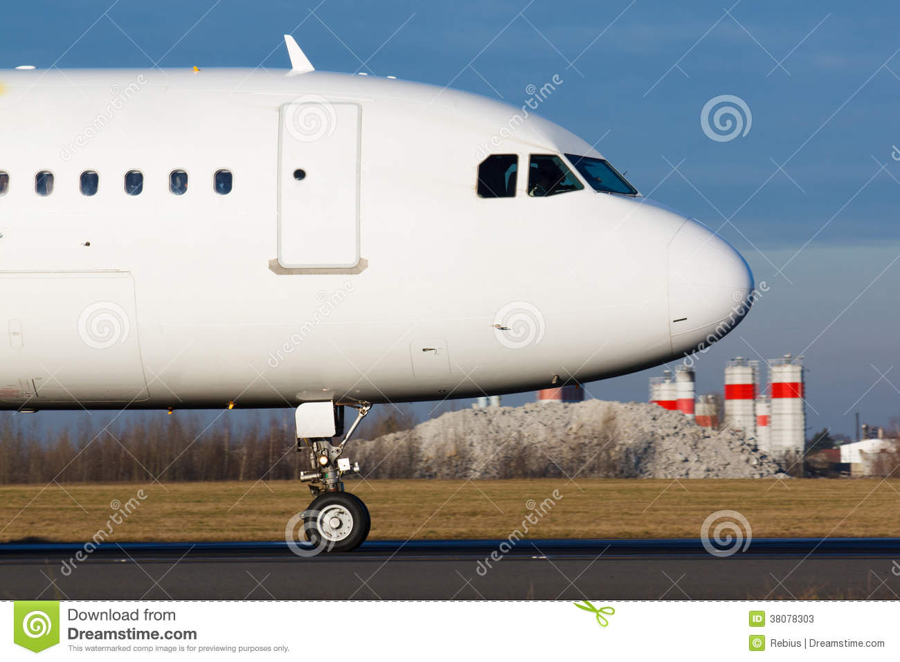 Nose Of Plane Stock Photos Image 38078303