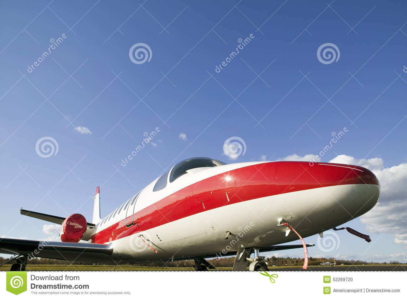 Nose Of Private Jet On Runway In Maine Editorial Image  Image 52269720