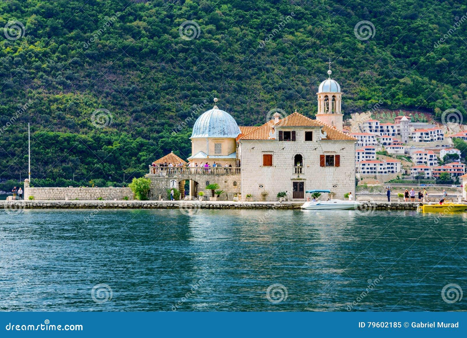 Nossa senhora das rochas em Montenegro