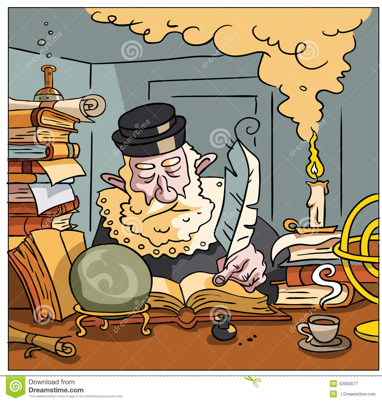 Nostradamus Cartoons and Comics - funny pictures from ...