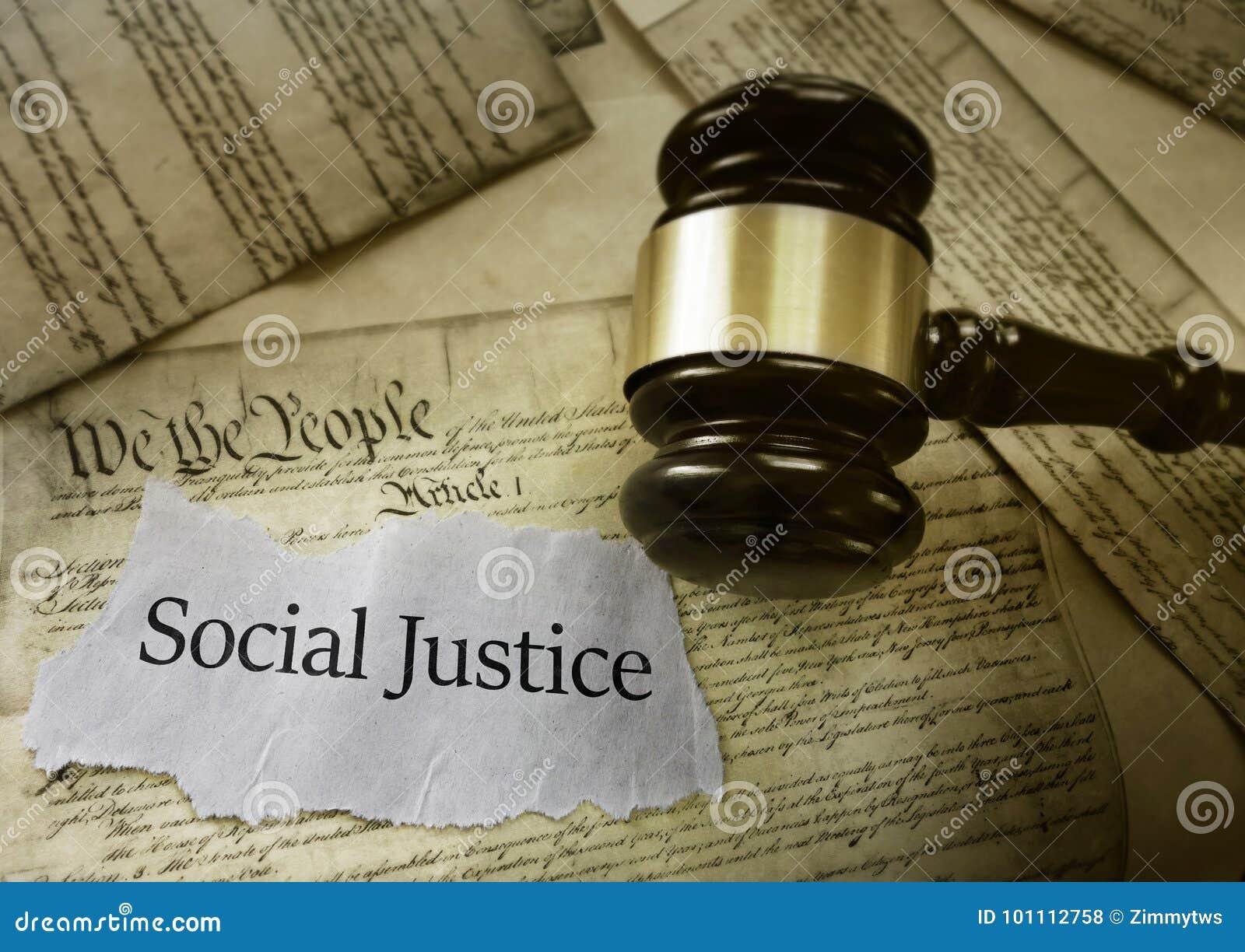 Notícia de justiça social