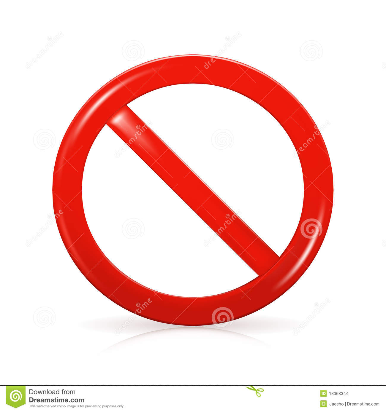 Not Allowed Sign Stock Images - Image: 13368344