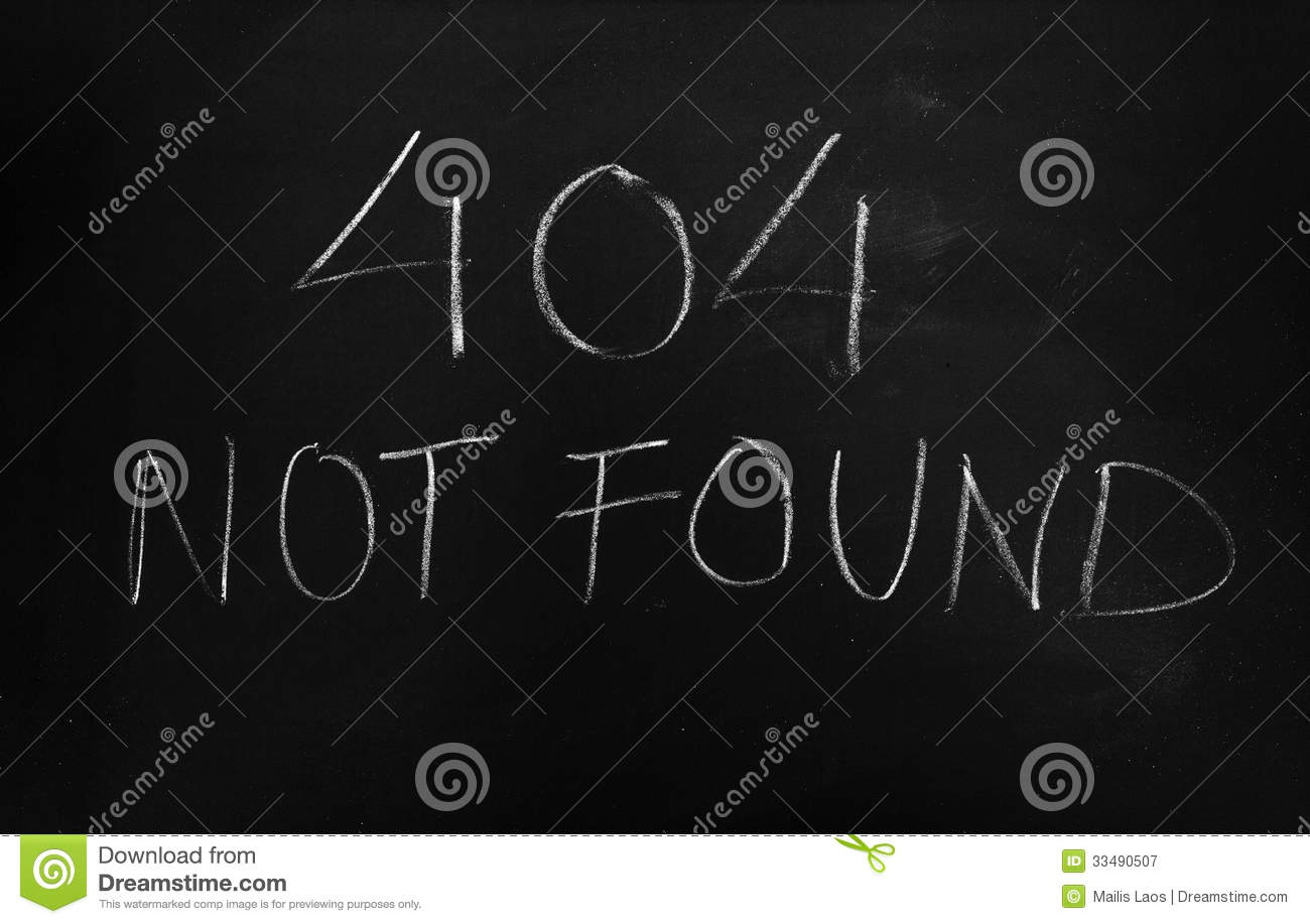 Download 404 Not Found Error Message Stock Image - Image of message, black: 33490507