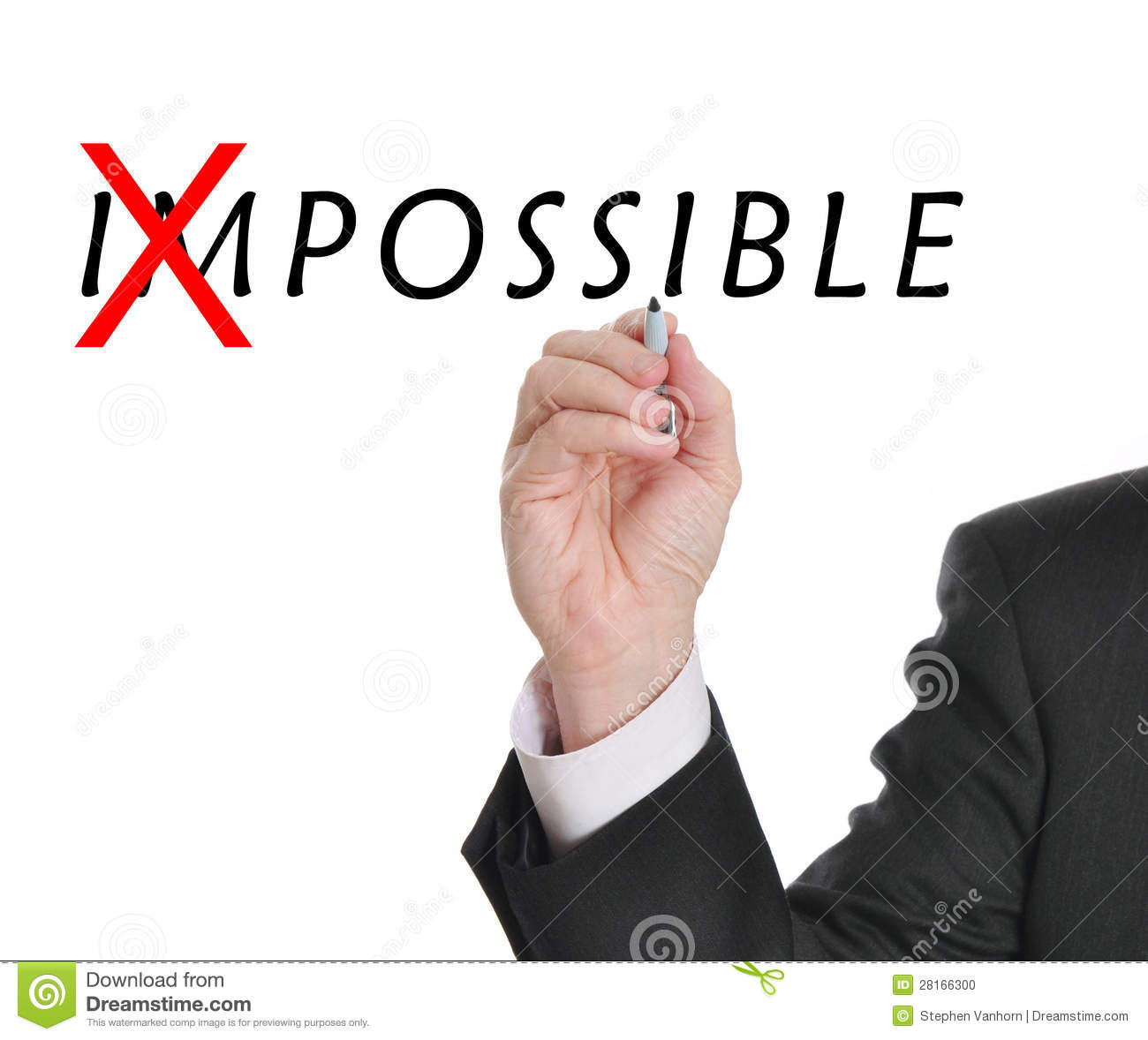 Not Impossible Stock Photo - Image: 28166300
