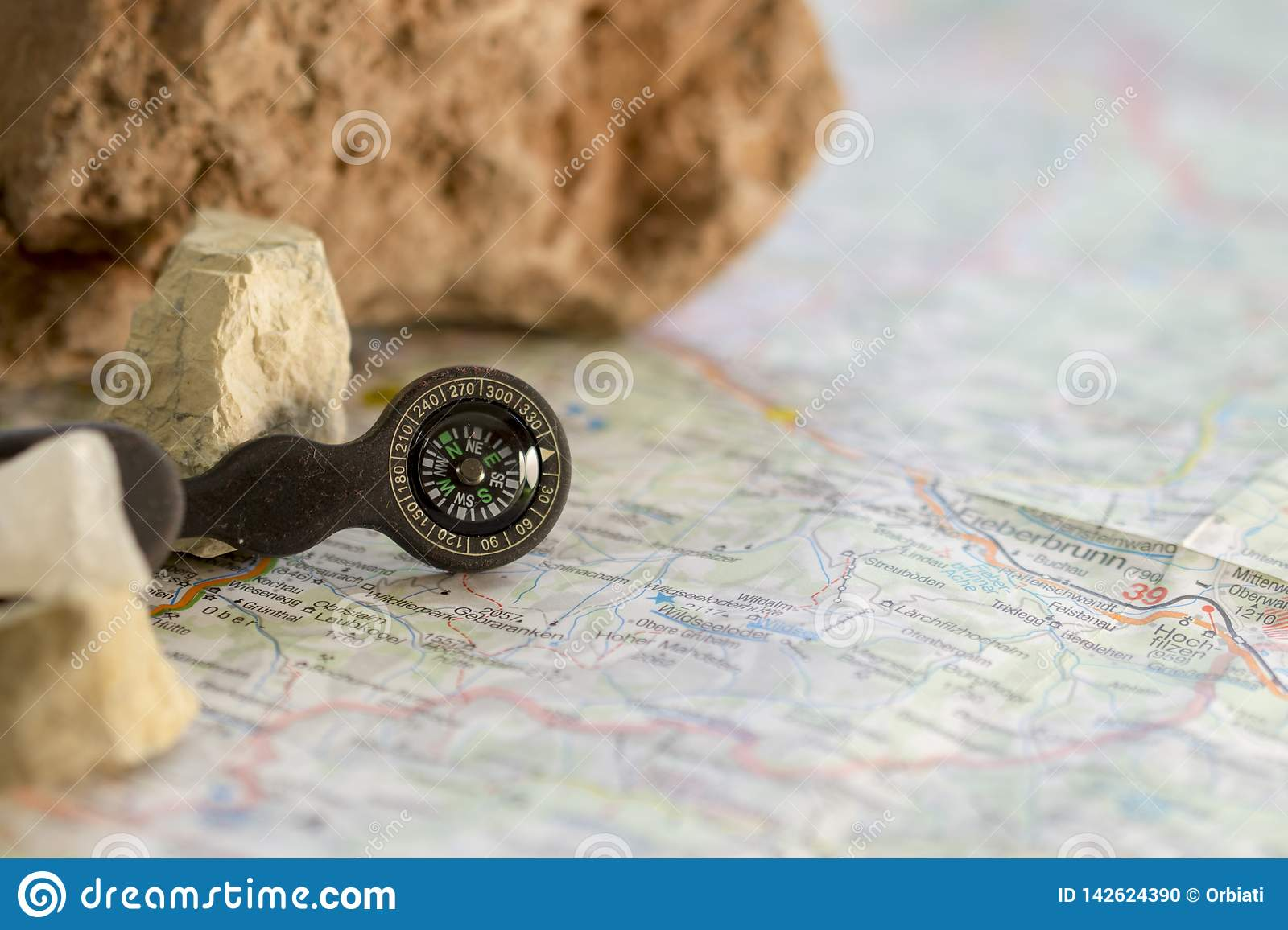 GPS in the old days.