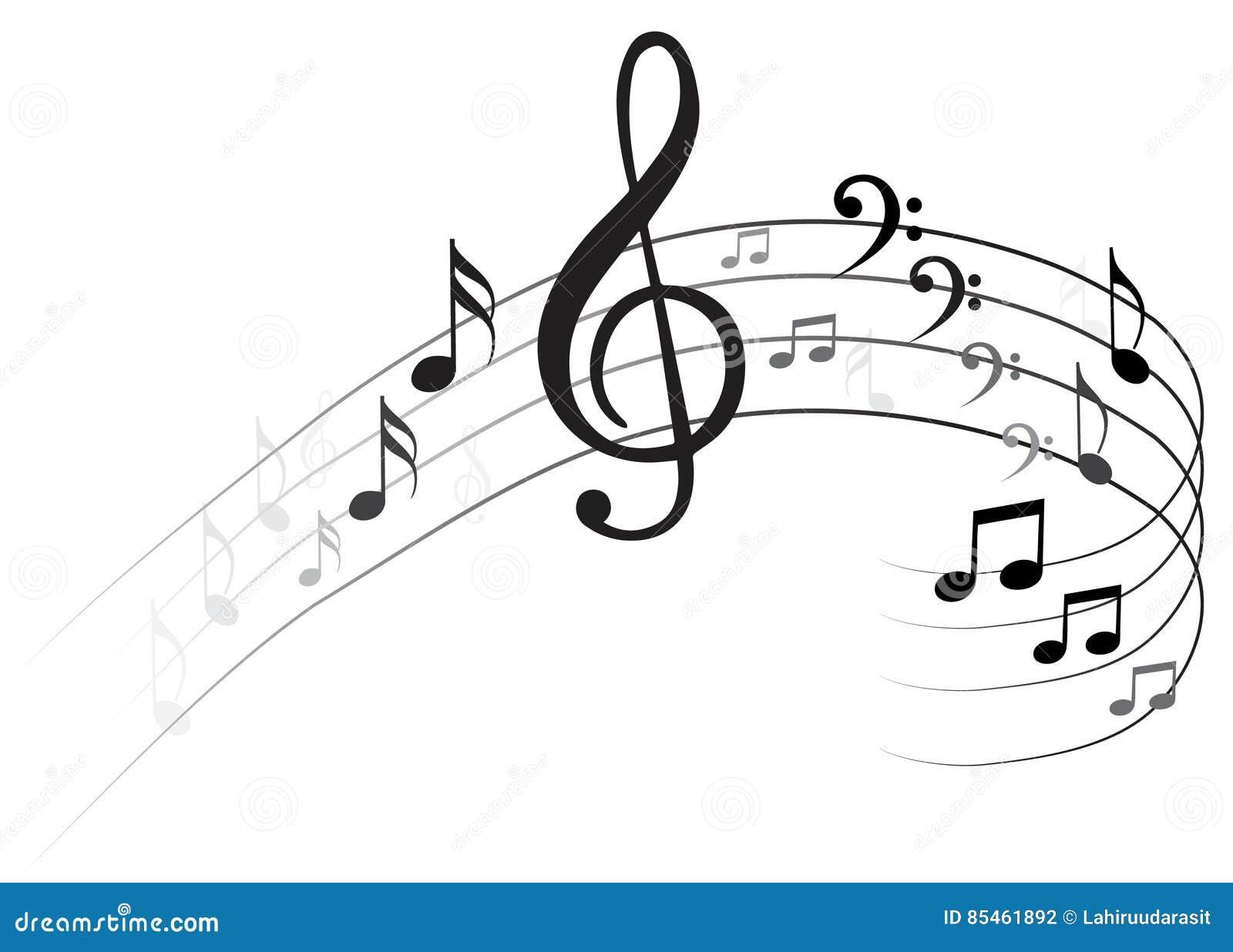 Nota Backgraund di musica