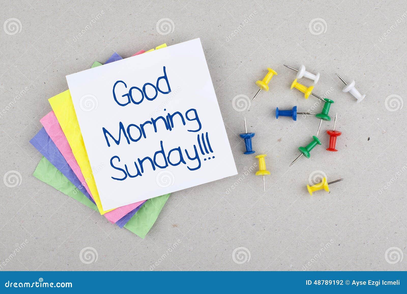 Nota de domingo do bom dia