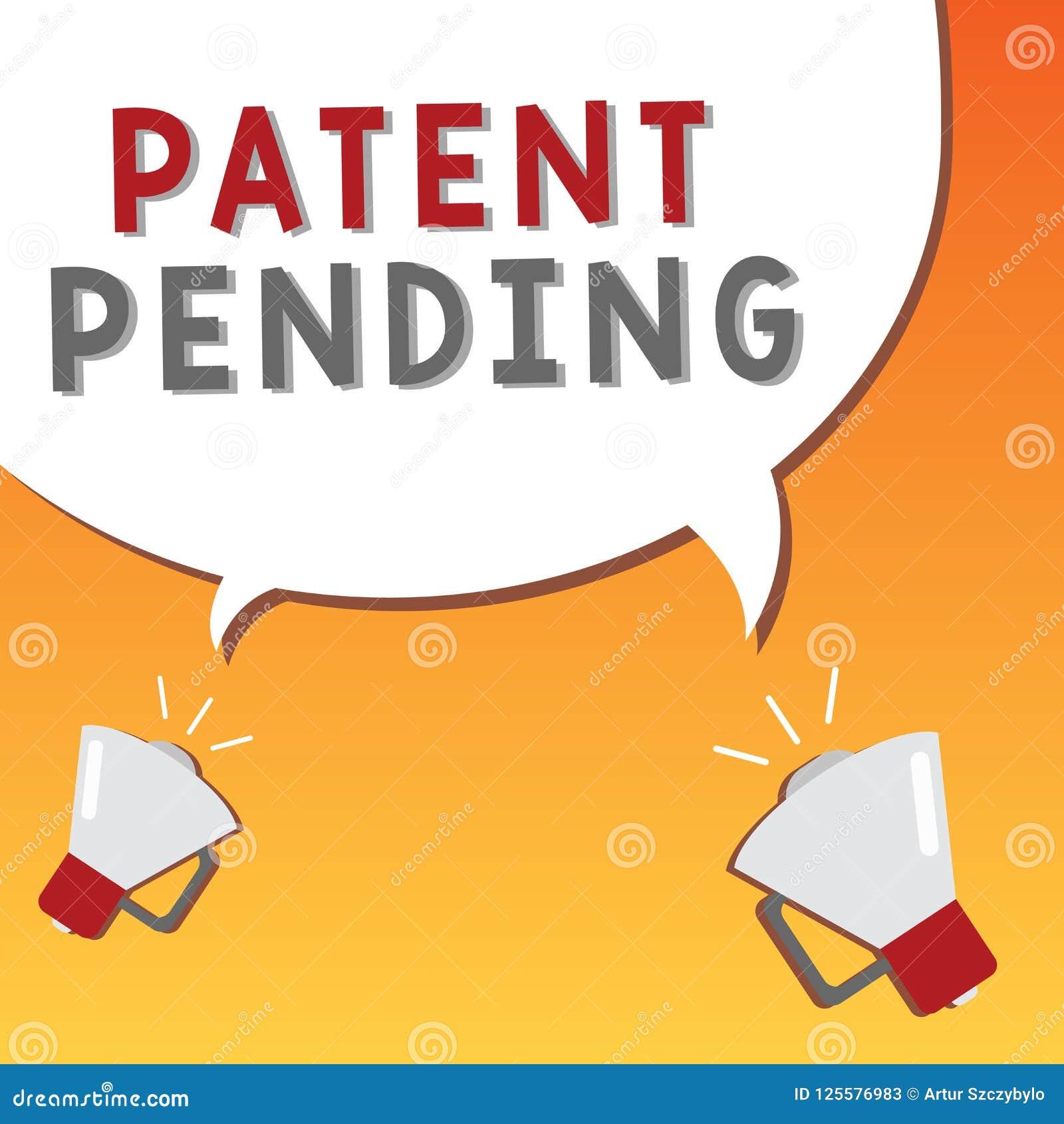 Nota de la escritura que muestra la patente pendiente Petición de exhibición de la foto del negocio archivada ya pero no todavía