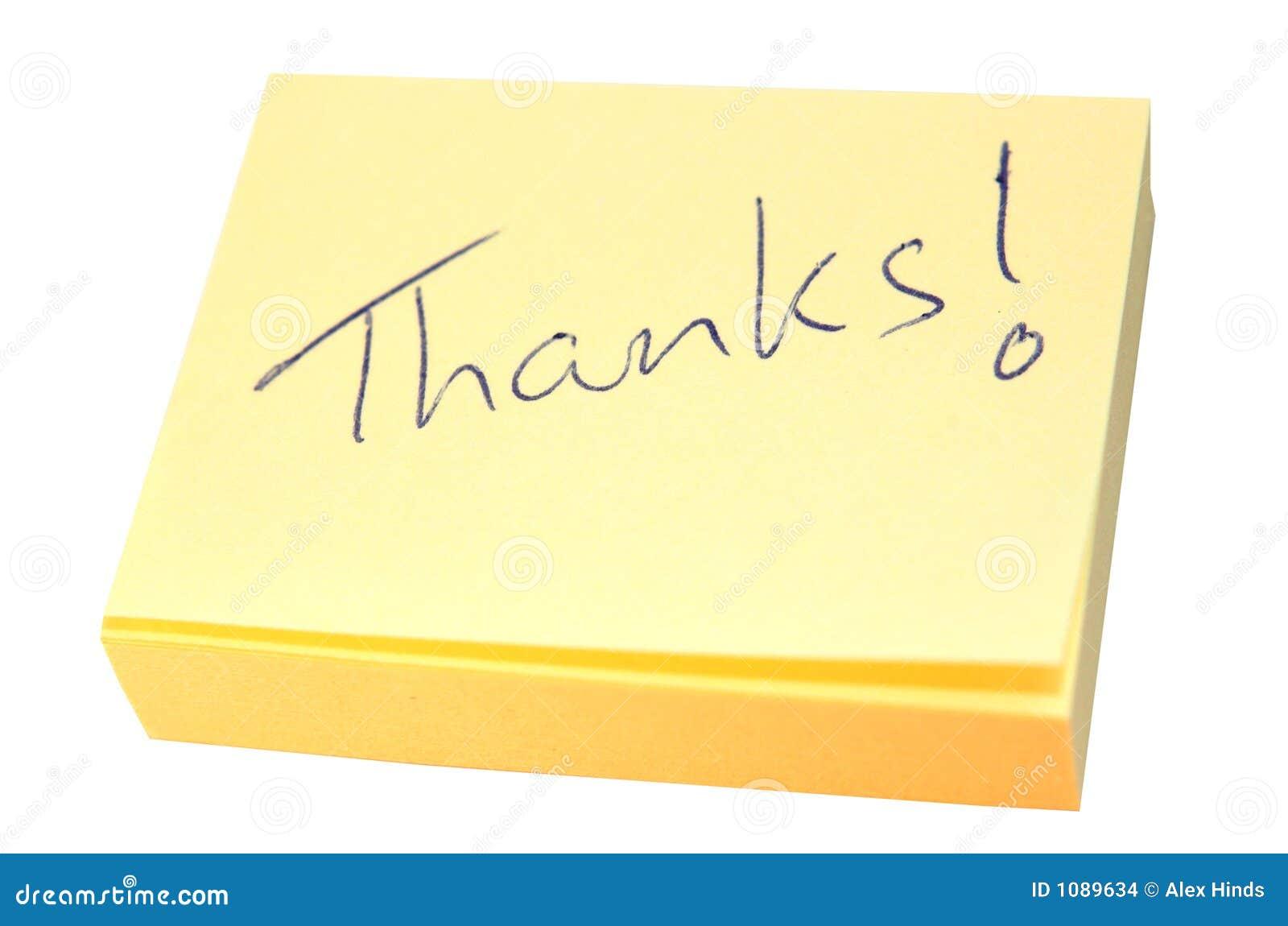 Nota dei ringraziamenti