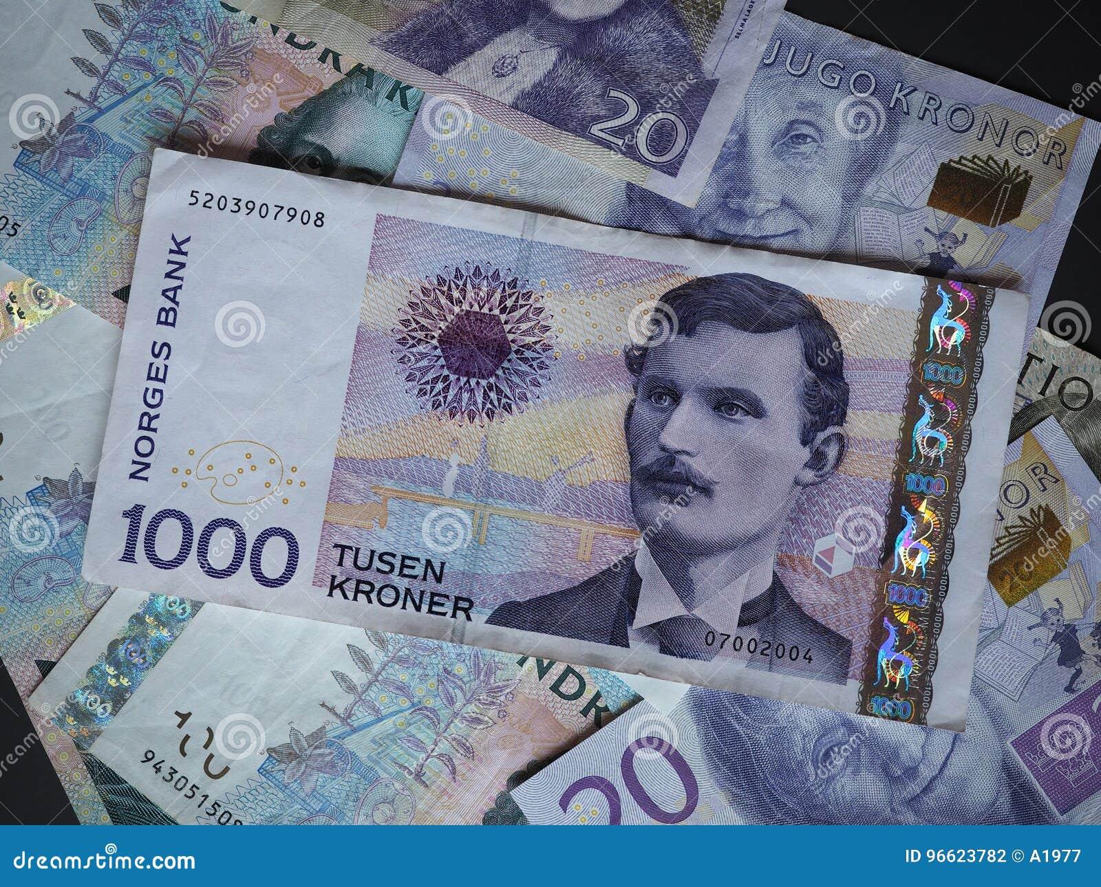 1000 Nok Eur