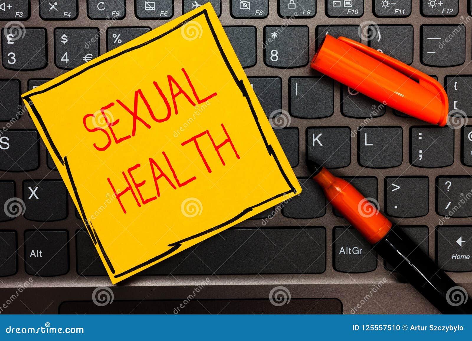 Nota di scrittura che mostra salute sessuale La foto di affari che montra le relazioni positive di vita sessuale soddisfacente pi