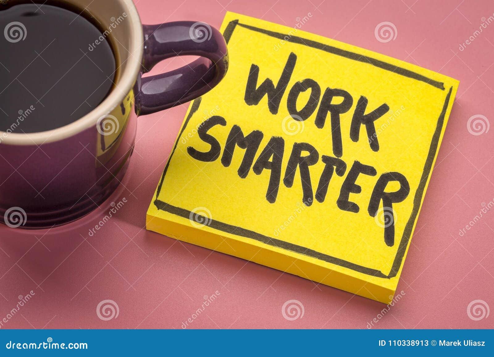 Nota inspirada mais esperta do lembrete do trabalho