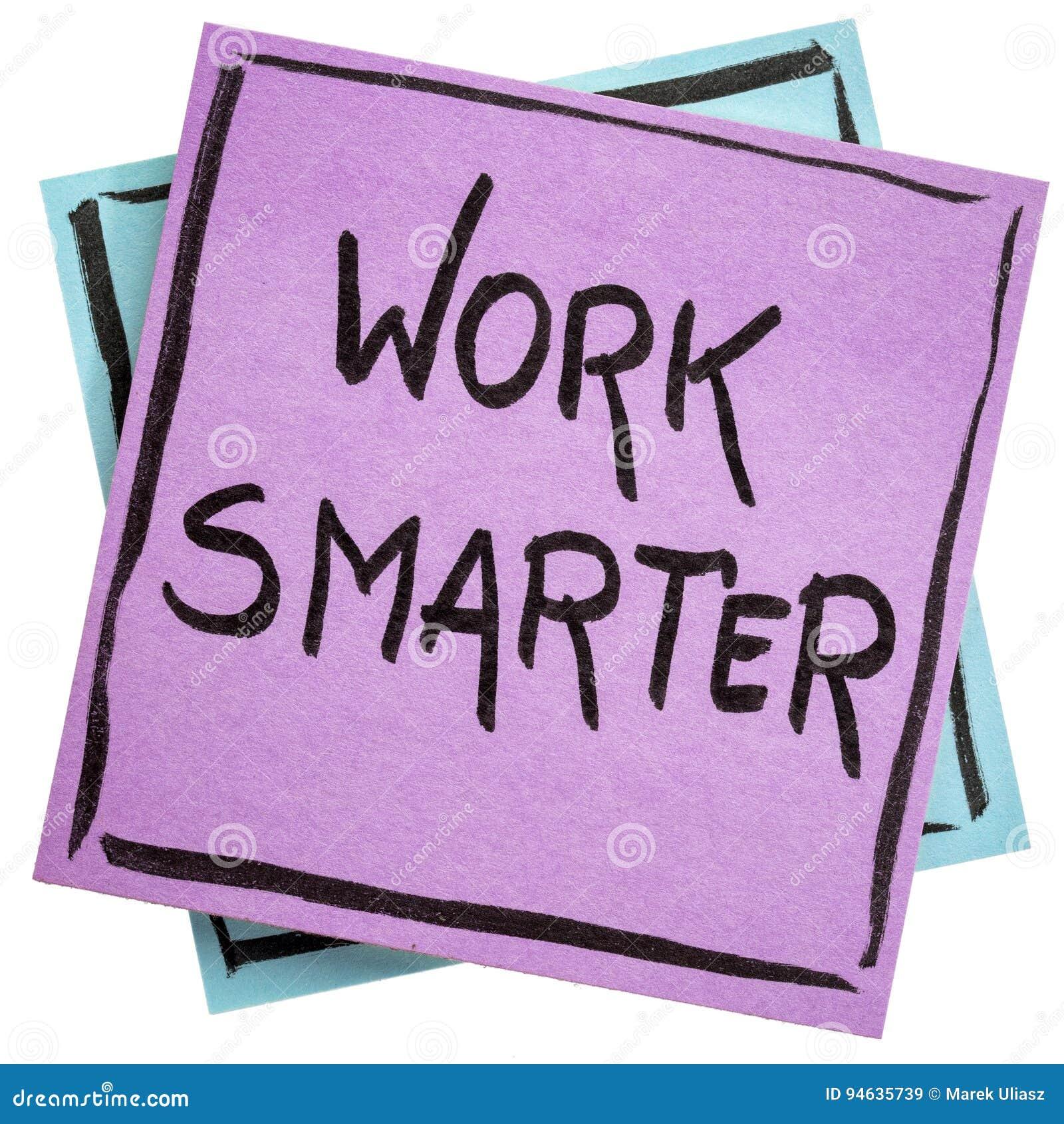 Nota mais esperta do lembrete do trabalho
