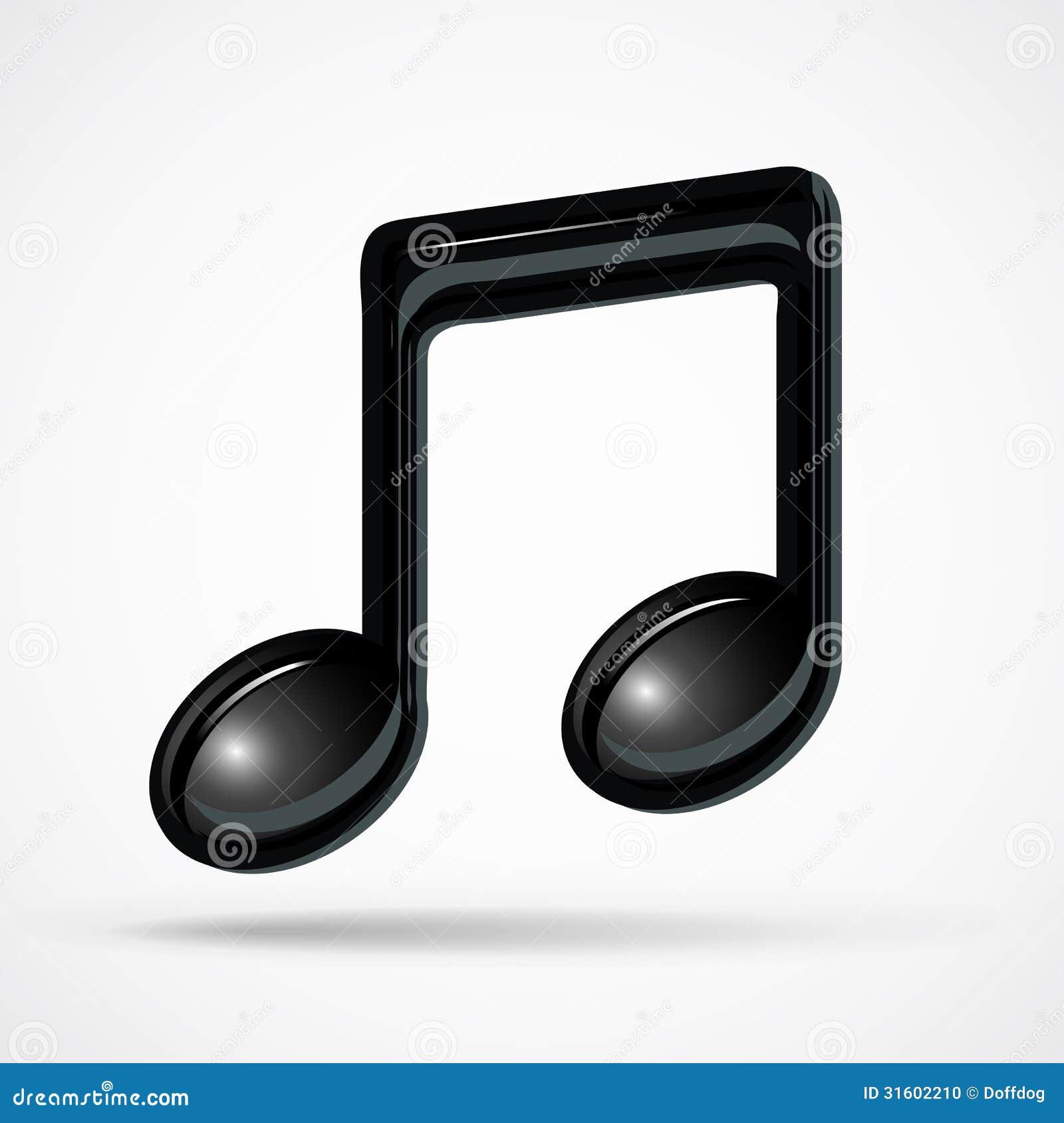Foto Nota Musical ~ Nota Musical Foto de archivo Imagen 31602210