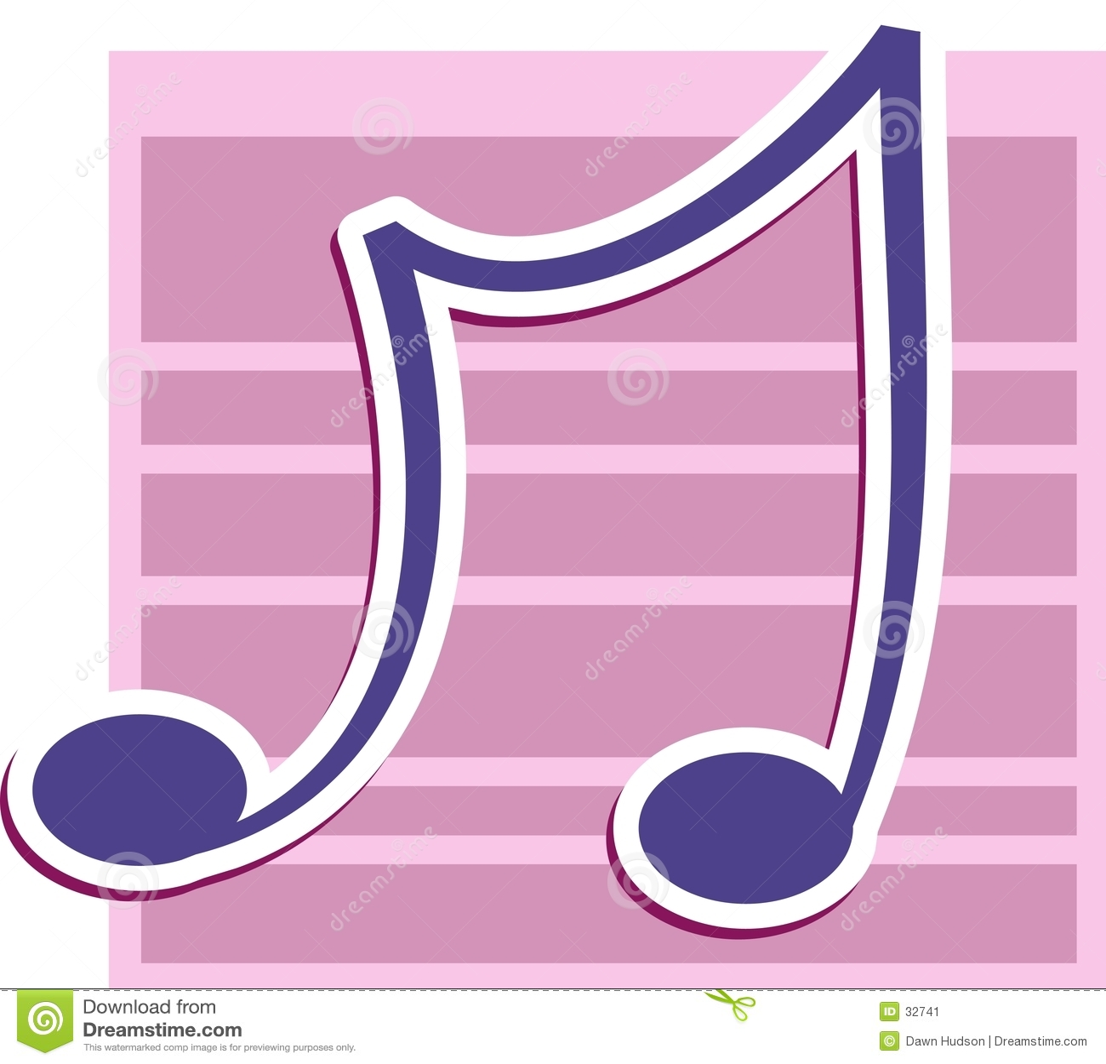 Download Nota musical ilustración del vector. Ilustración de música - 32741