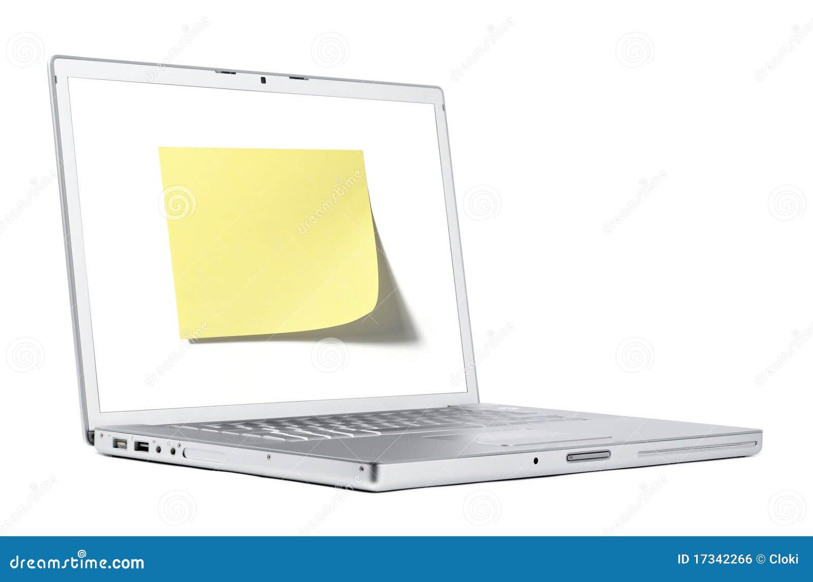 Nota sul computer portatile