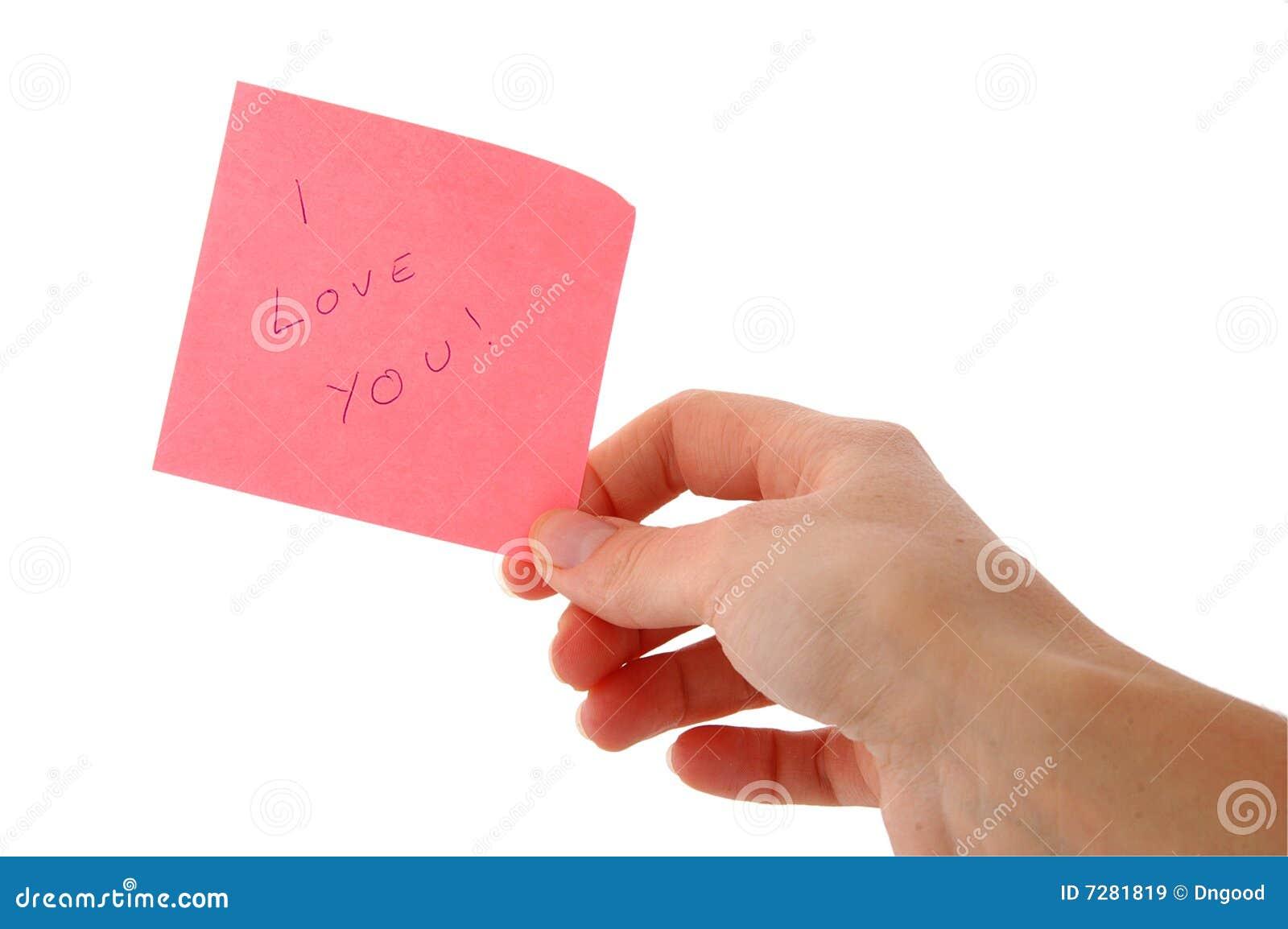Nota; Te amo