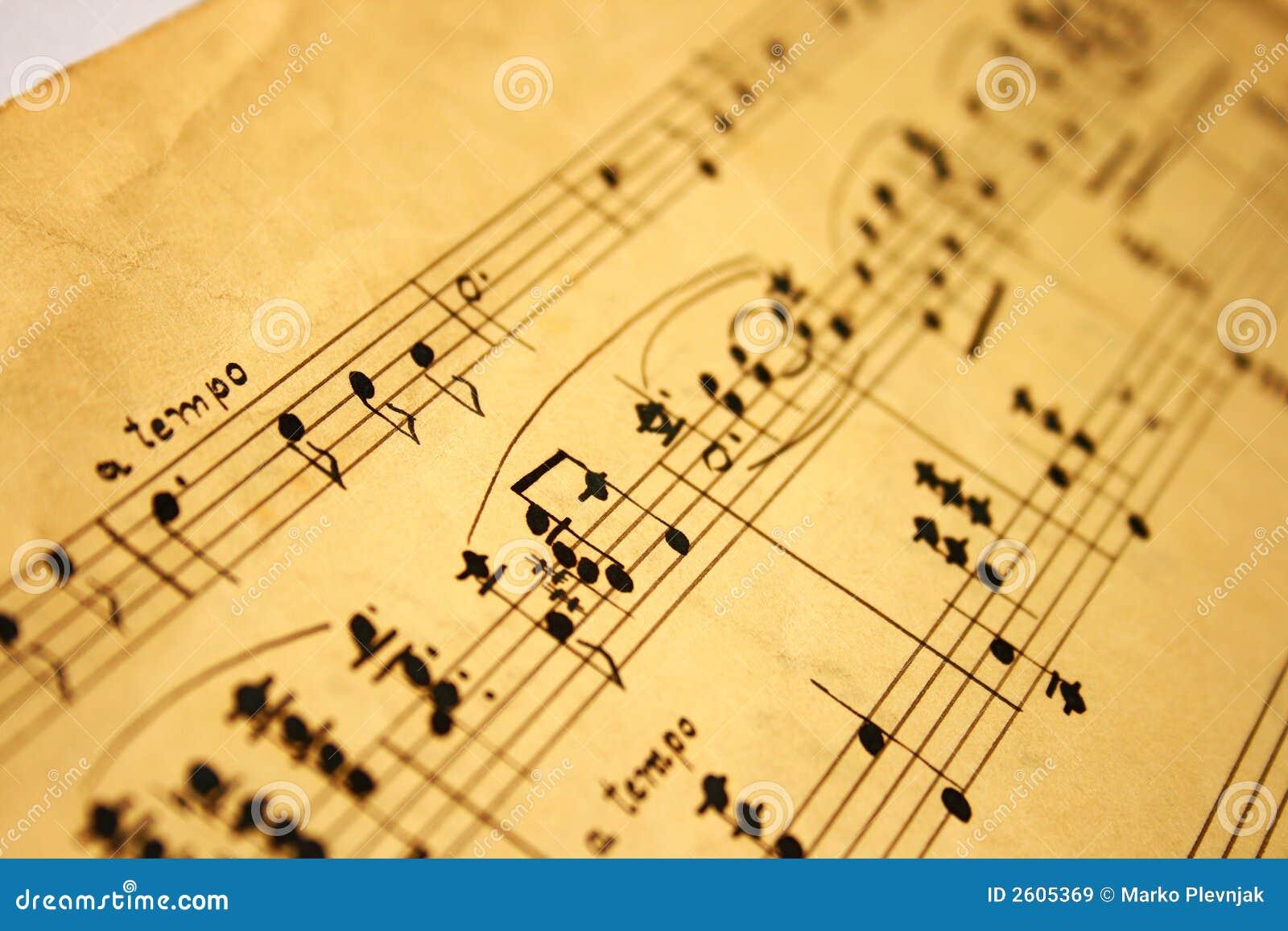 Notas da m sica cl ssica imagens de stock royalty free for Musica classica