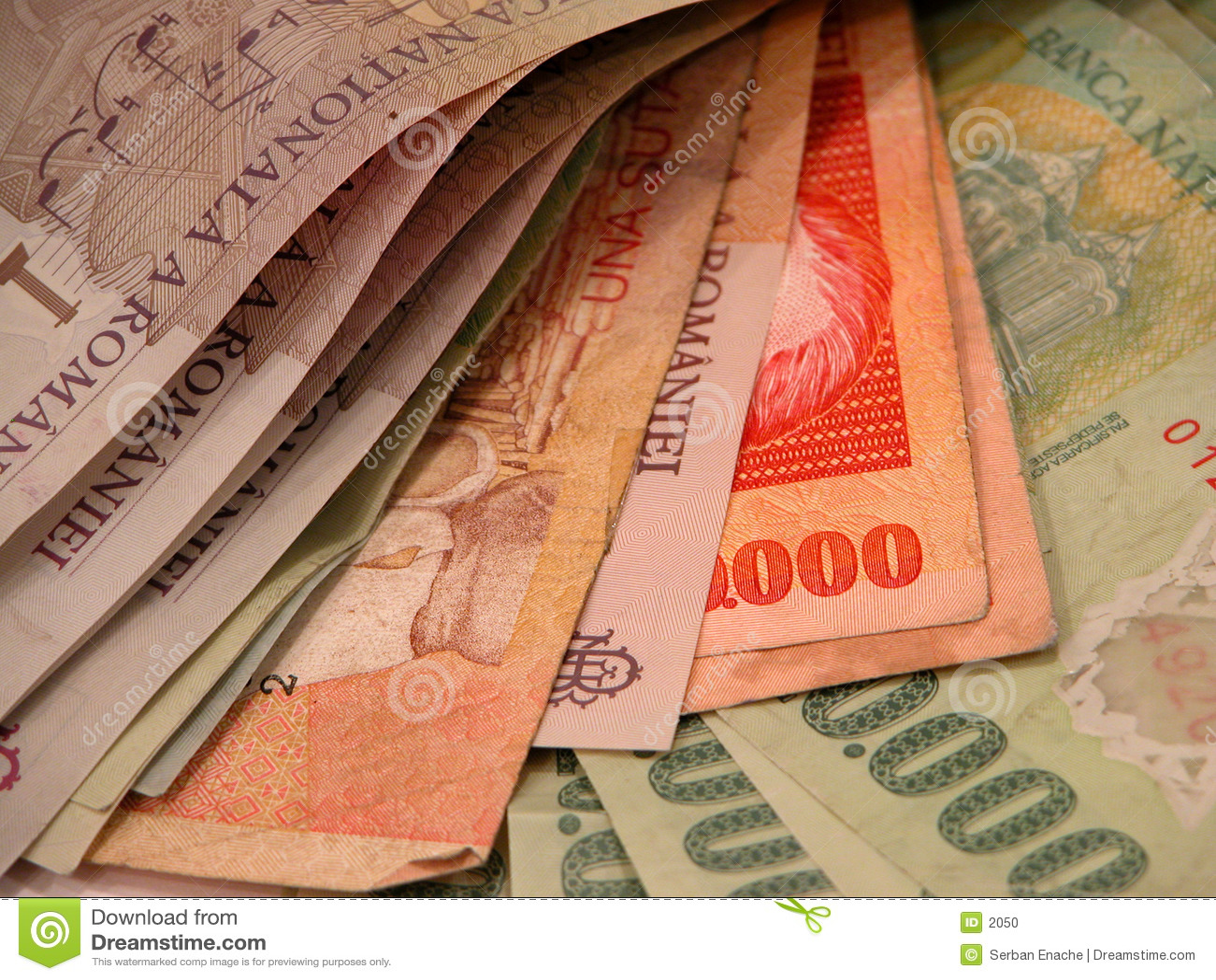 Notas de banco e contas
