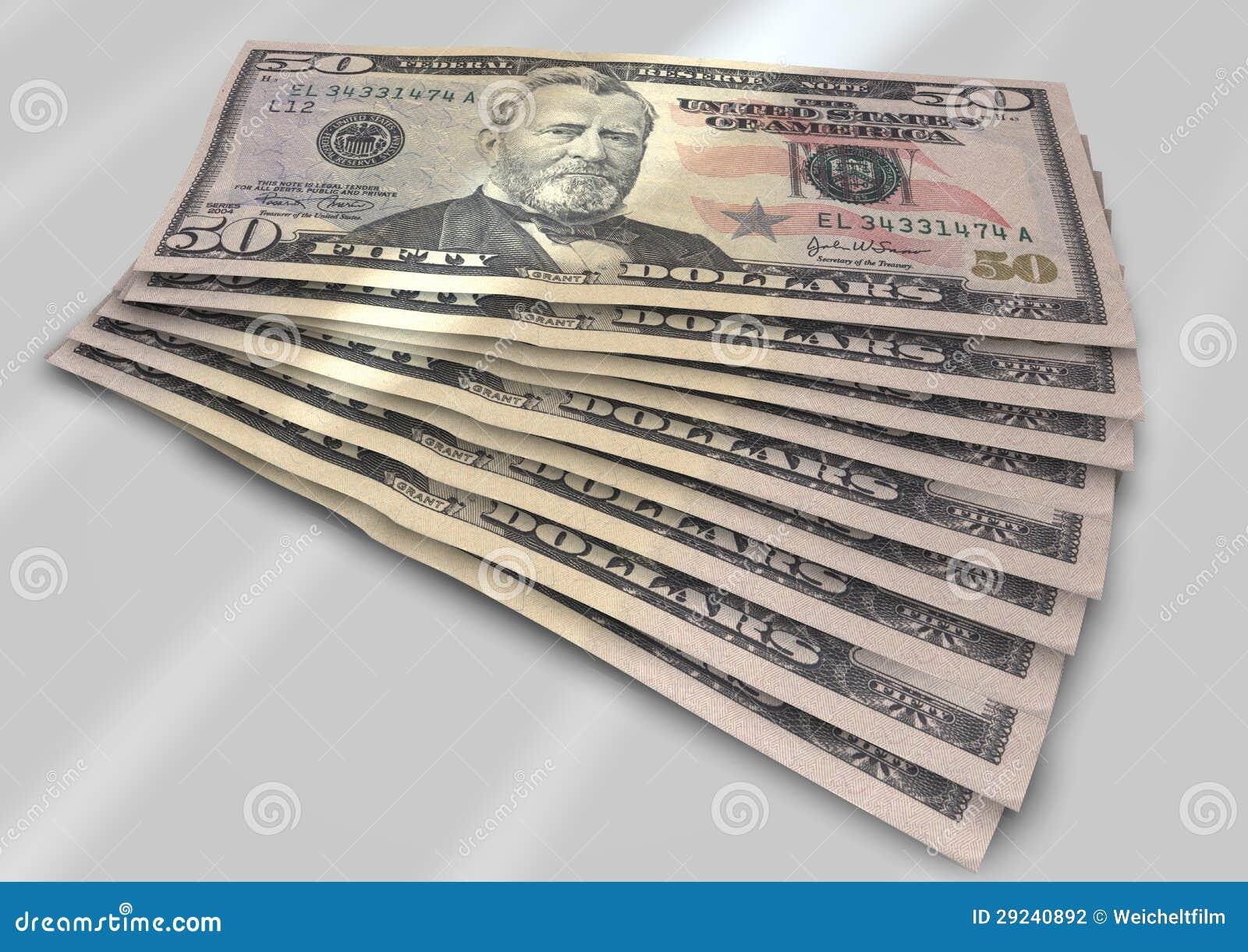 Download Notas de dólar foto de stock. Imagem de economias, economia - 29240892