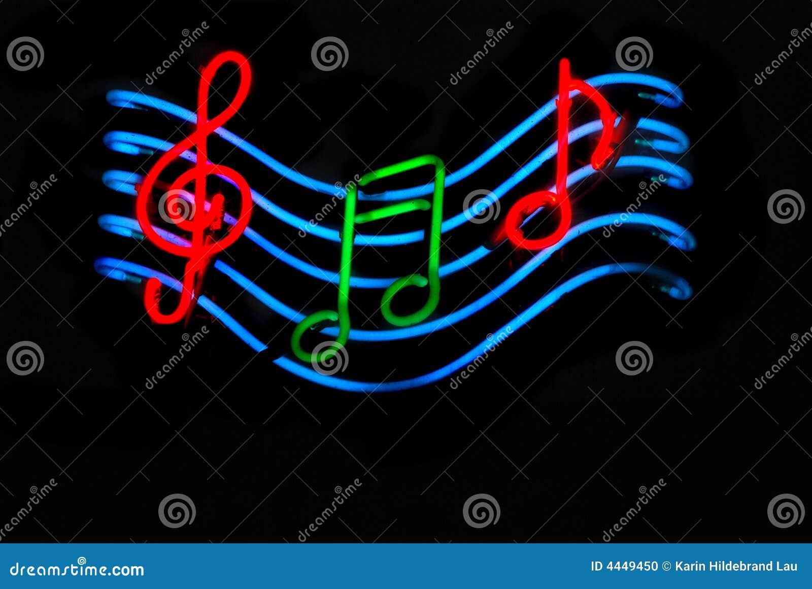 Foto Nota Musical ~ Notas Musicais Foto de Stock Imagem 4449450