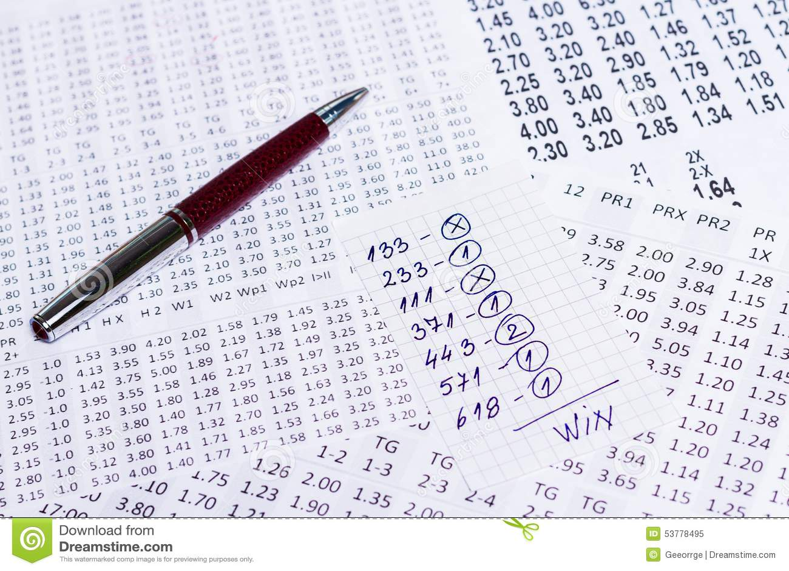 Notatka z wygrana wyborem wygranie kody na bukmacherach