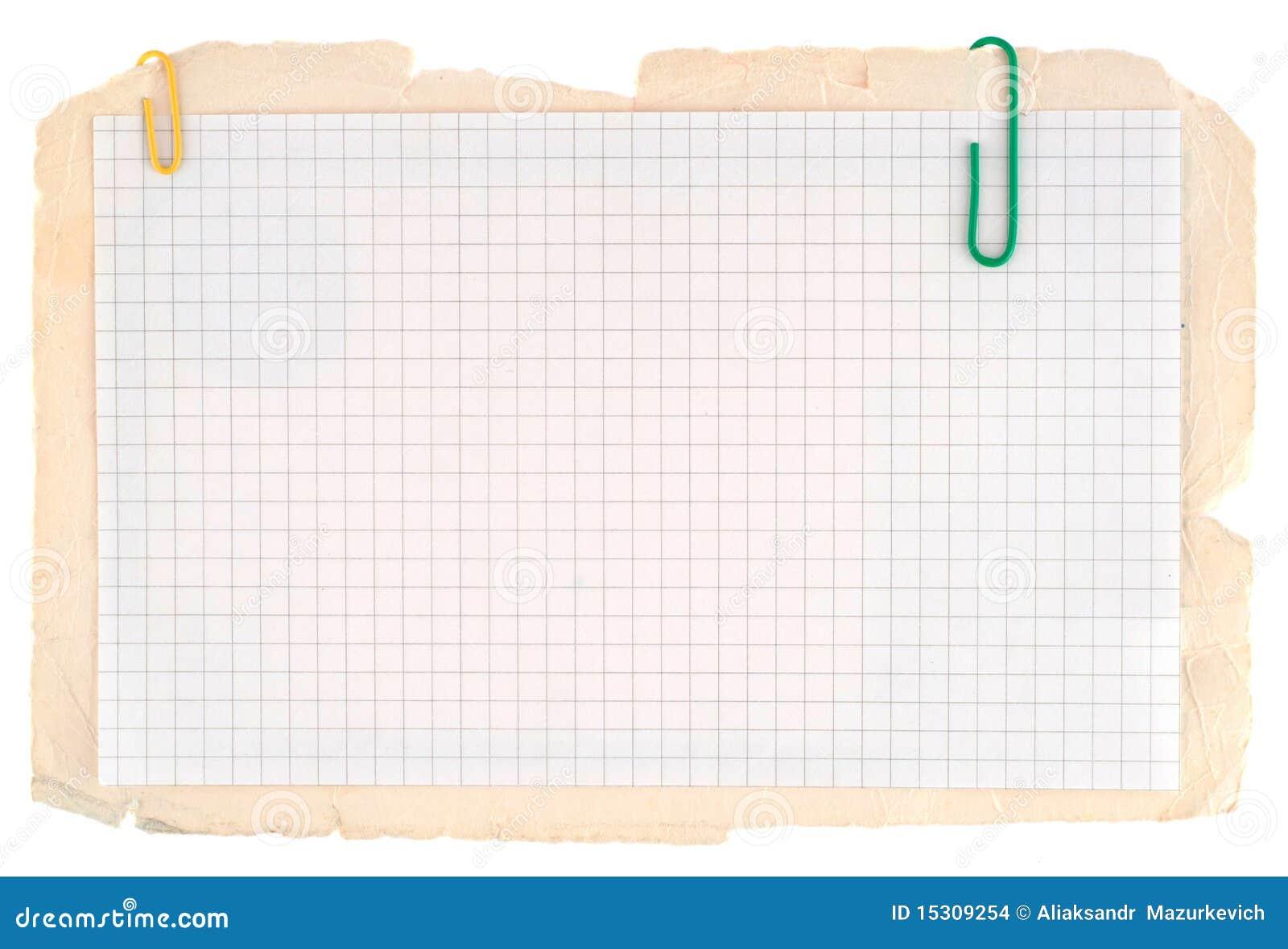 Notatnika sprawdzać papier