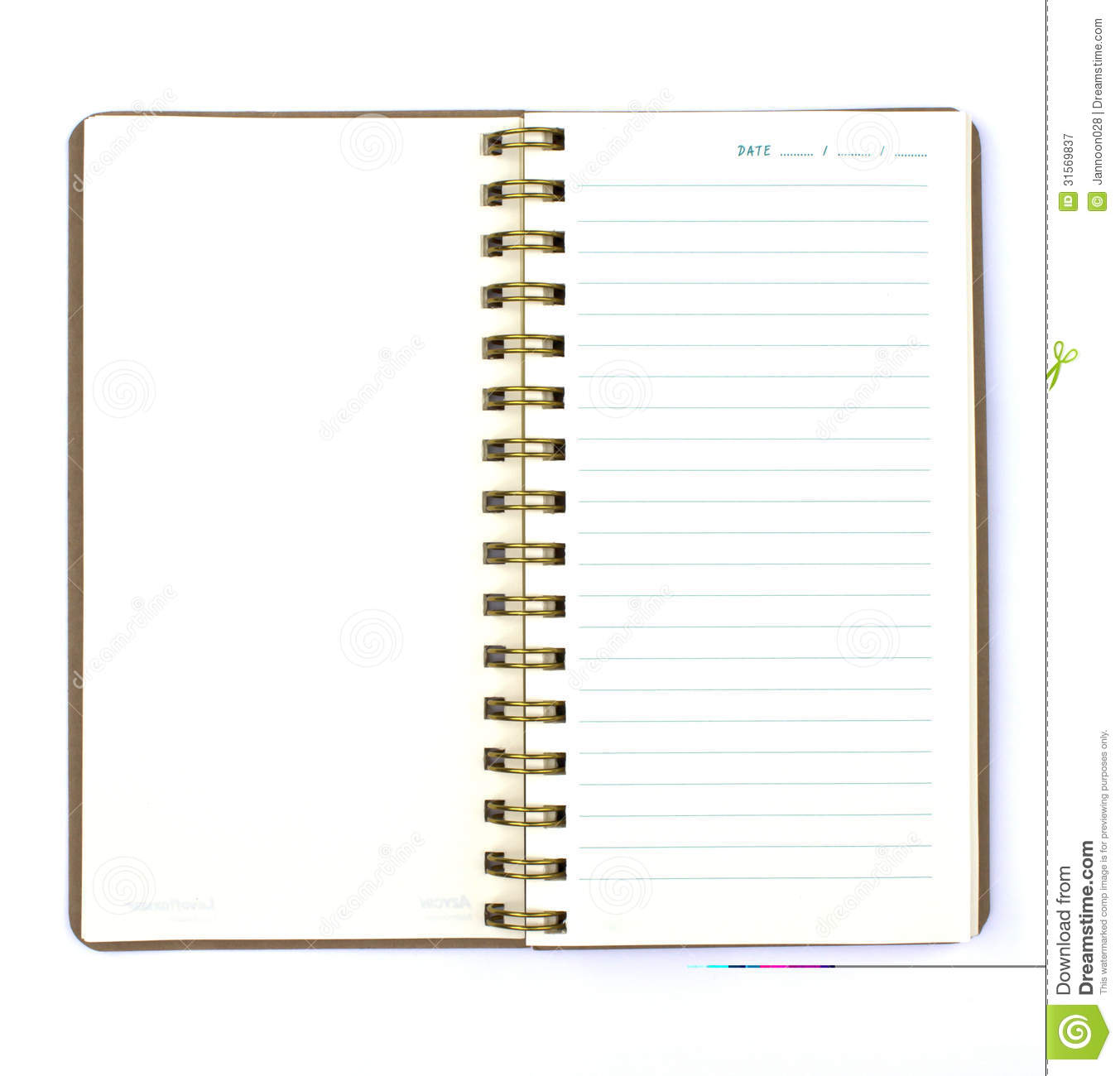S note background image - Background Blank Book Diary Isolated Note
