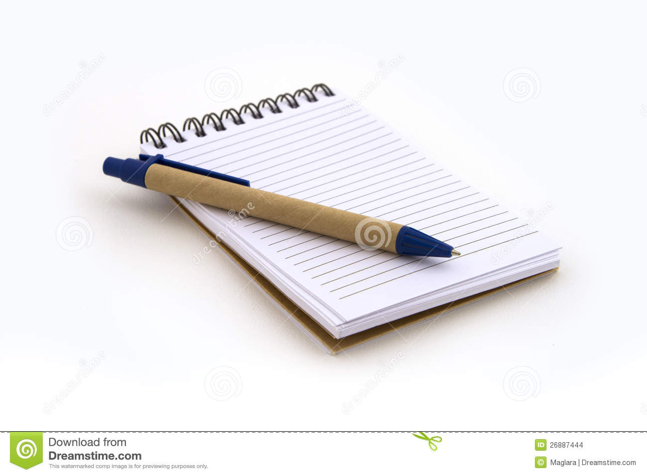 Note Book With Pen Stock Images - Image: 26887444