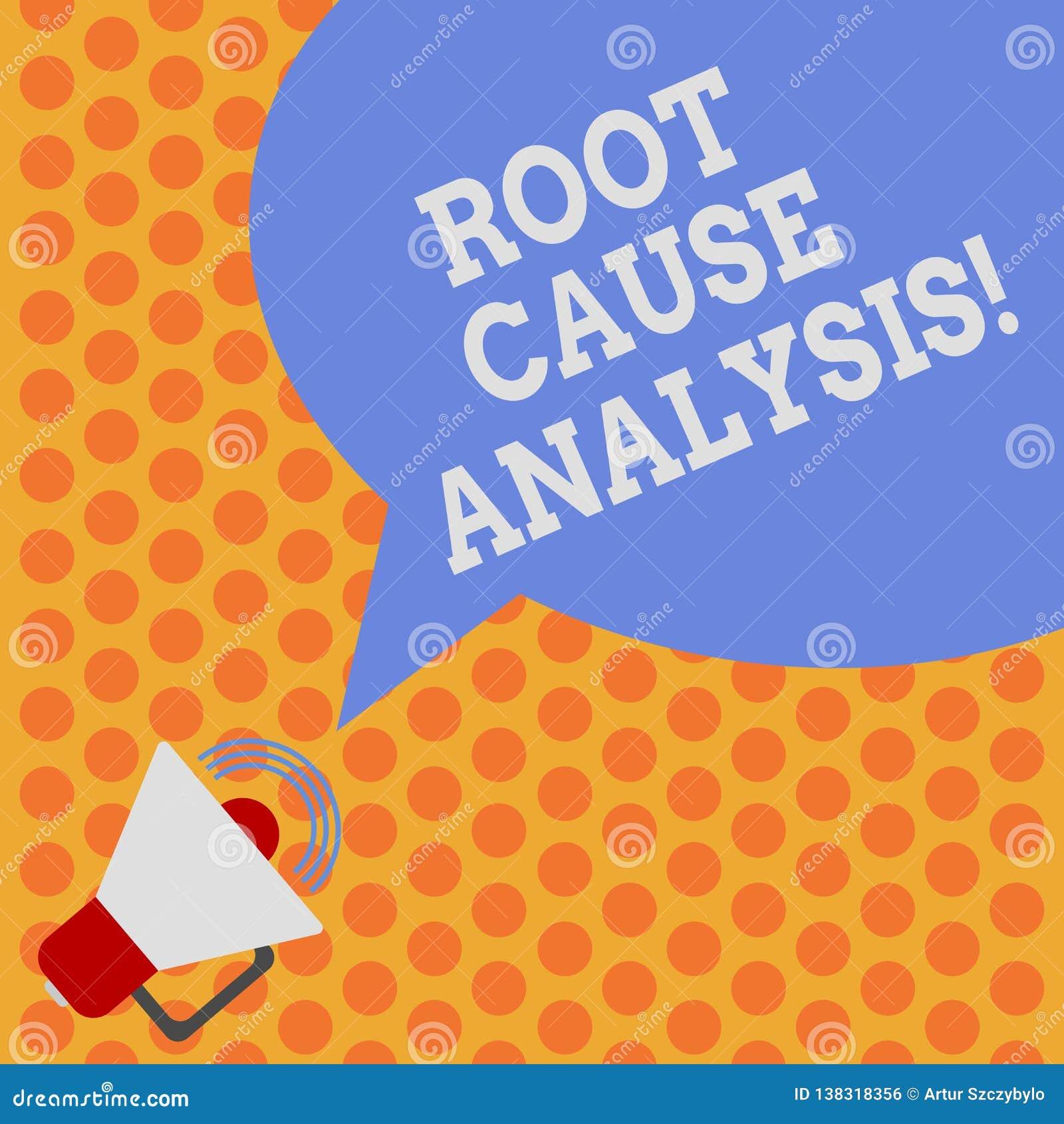 Note d écriture montrant l analyse de cause première Méthode de présentation de photo d affaires de résolution des problèmes util