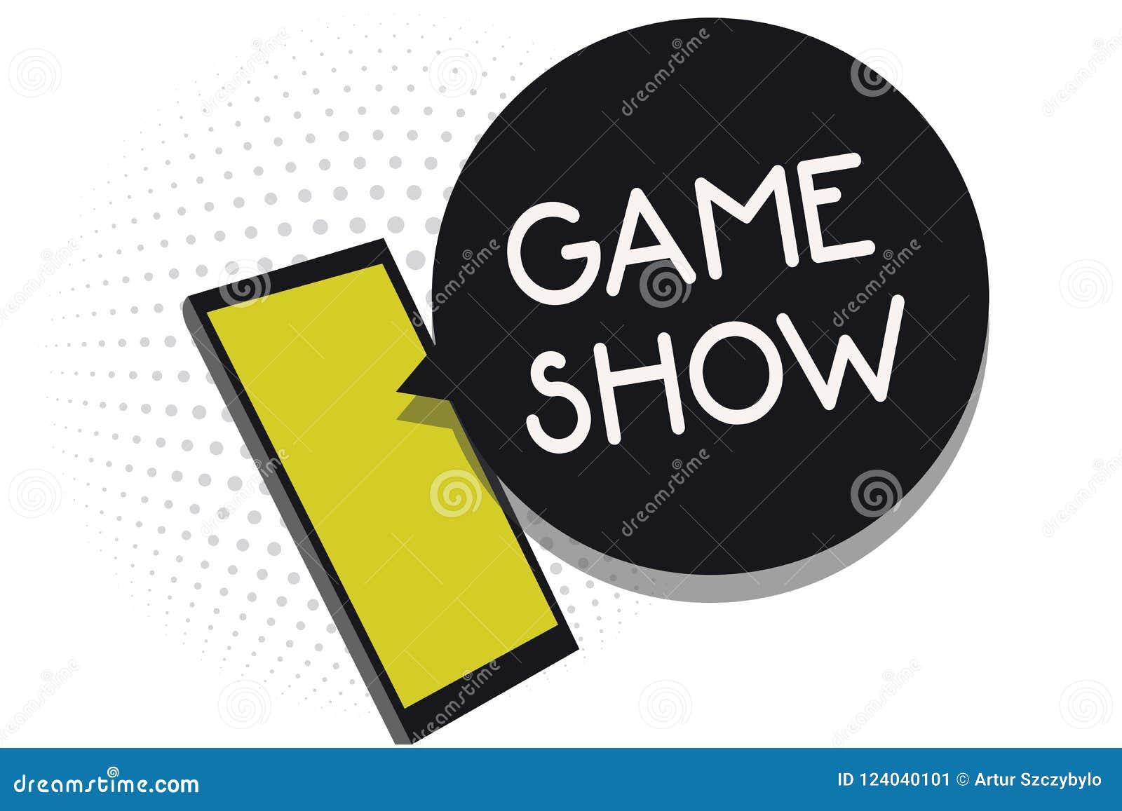 Note d écriture montrant l exposition de jeu Programme de présentation de photo d affaires dans la télévision ou la radio avec le