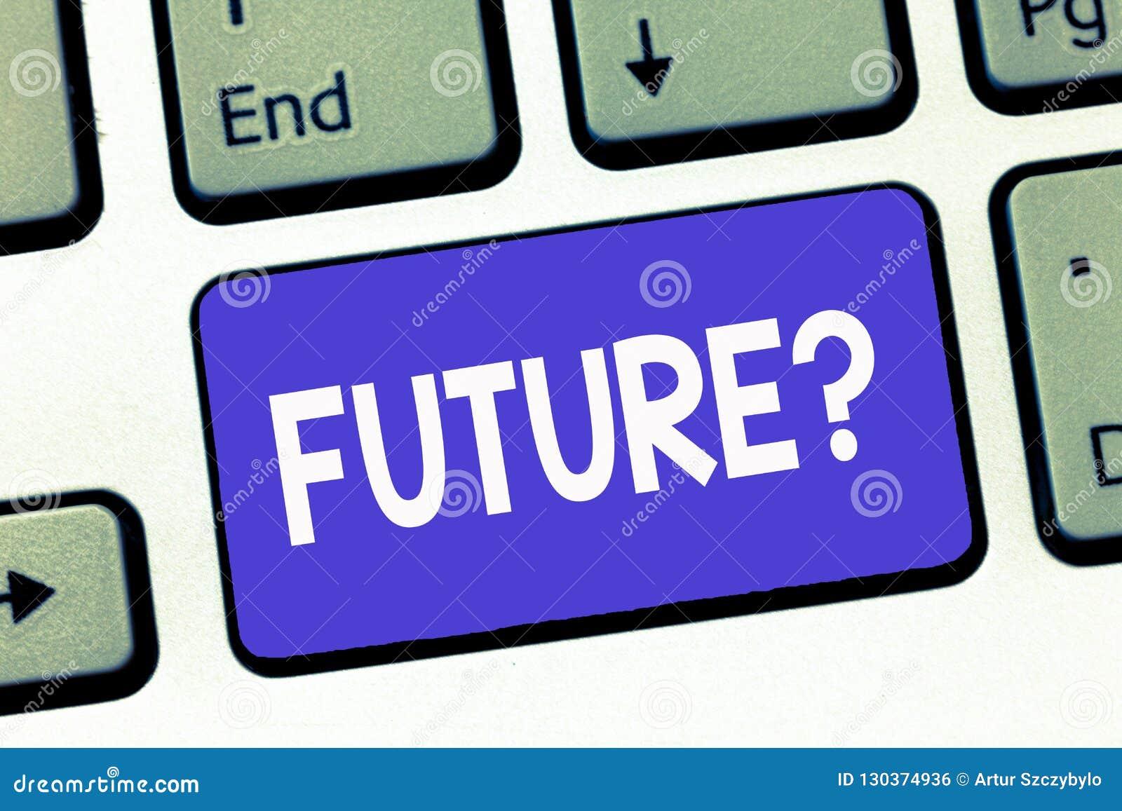 Note d écriture montrant la future question Planification de présentation de photo d affaires pour des objectifs de buts de visio