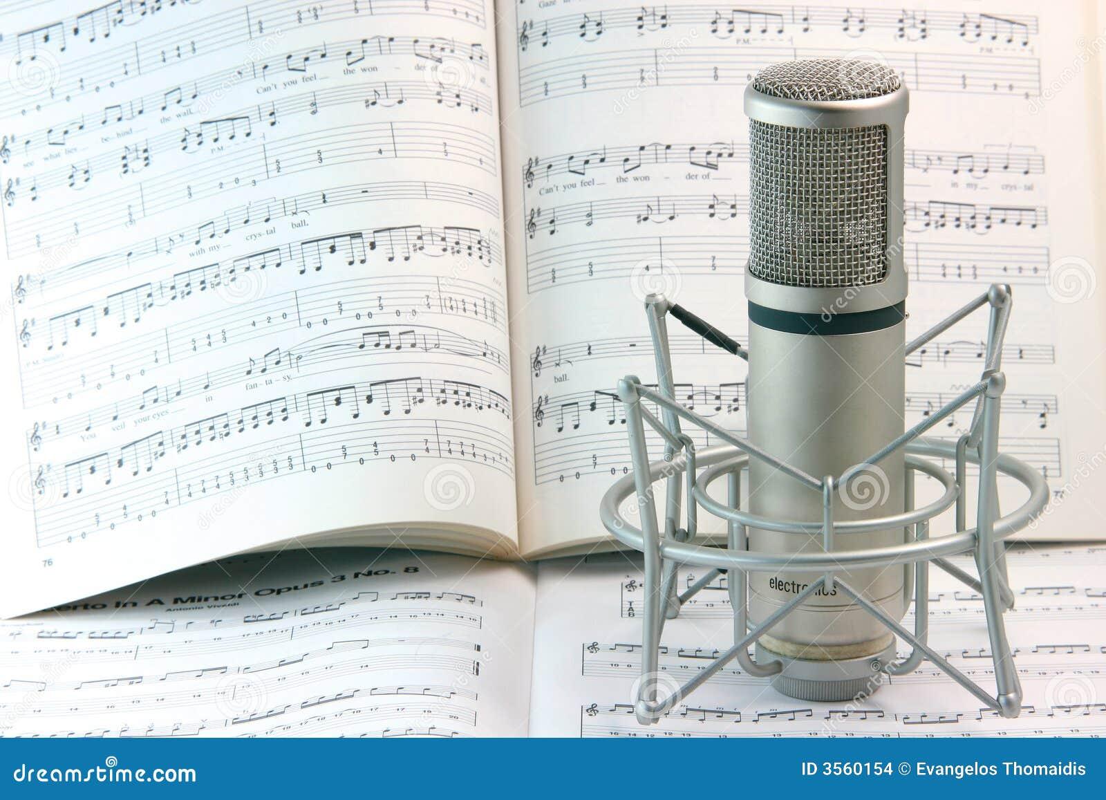 Note e microfono
