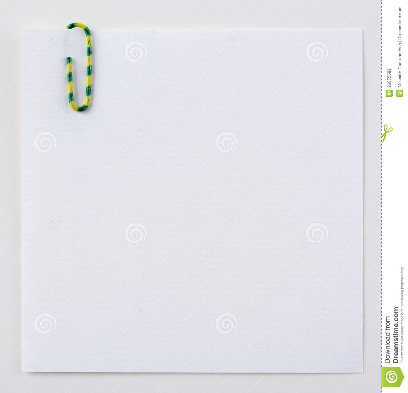 note memo paper clip royalty stock images image note memo paper clip 02