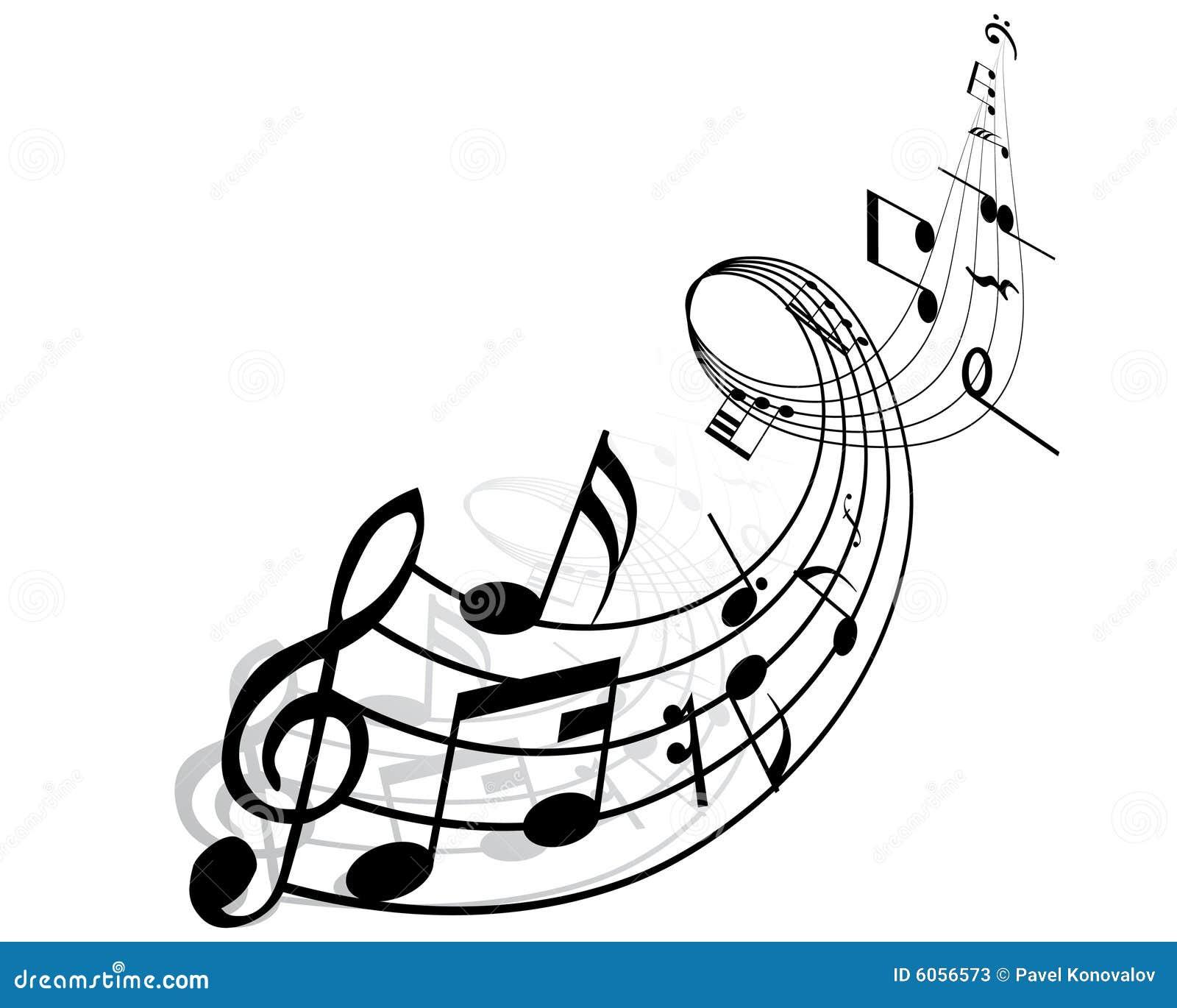 Note musicali fotografie stock immagine 6056573 - Note musicali da colorare pagina da colorare ...