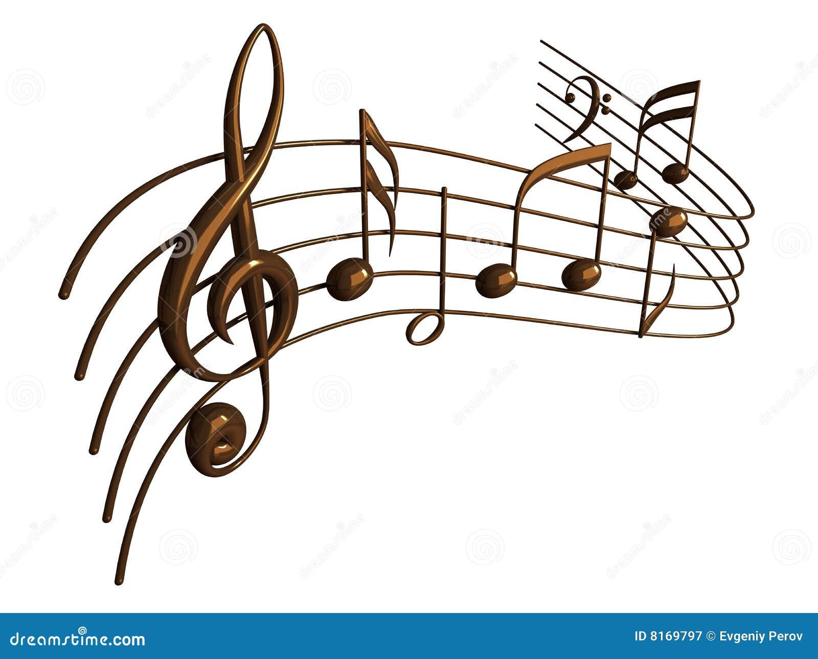 Note Musicali Fotografia Stock Libera da Diritti - Immagine: 8169797