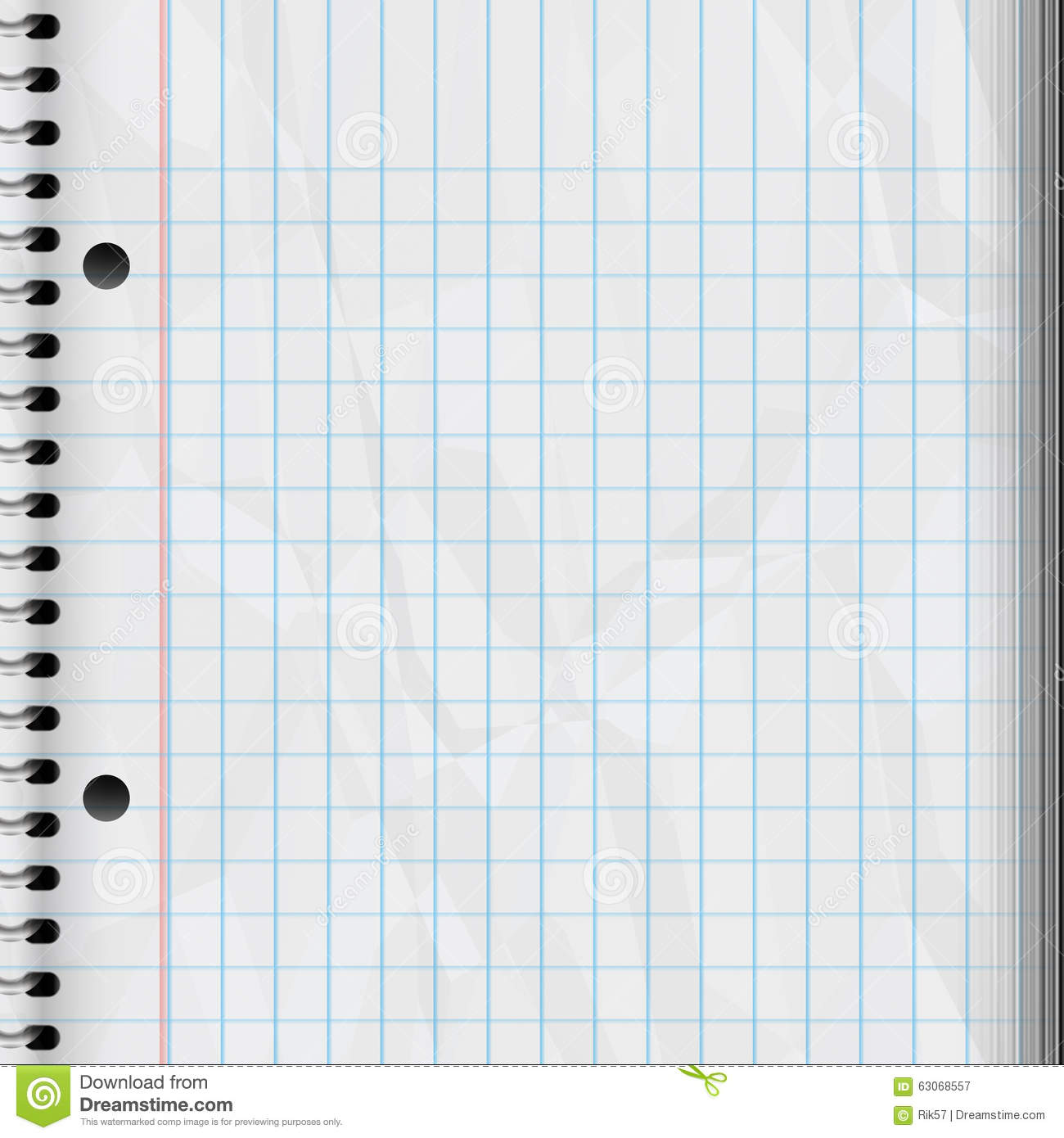 Note Pad Stock Illustration