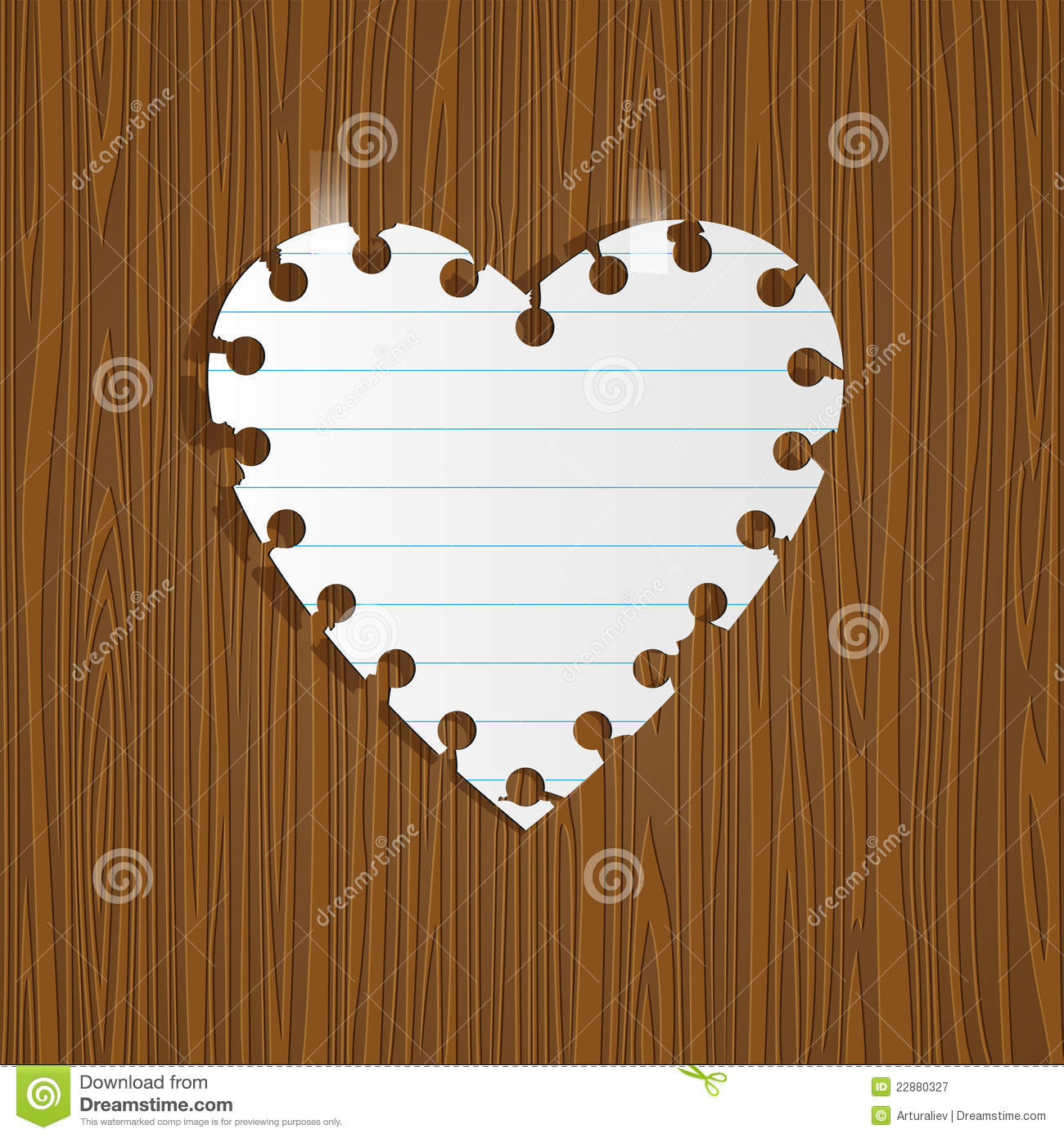 Order a paper heart note