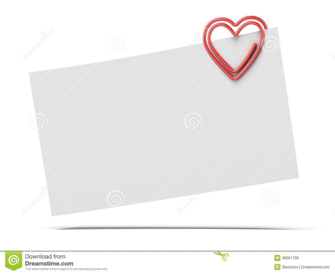 how to make a paper heart note