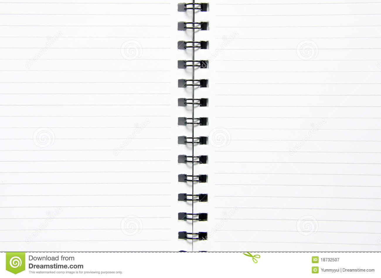 Notebook Royalty Free Stock Photography - Image: 18732507