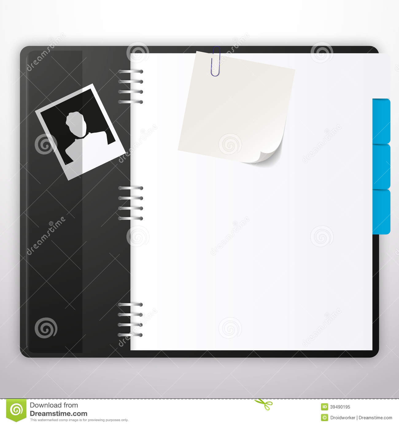 Notepad Cover Design Template Images Free Download Composition
