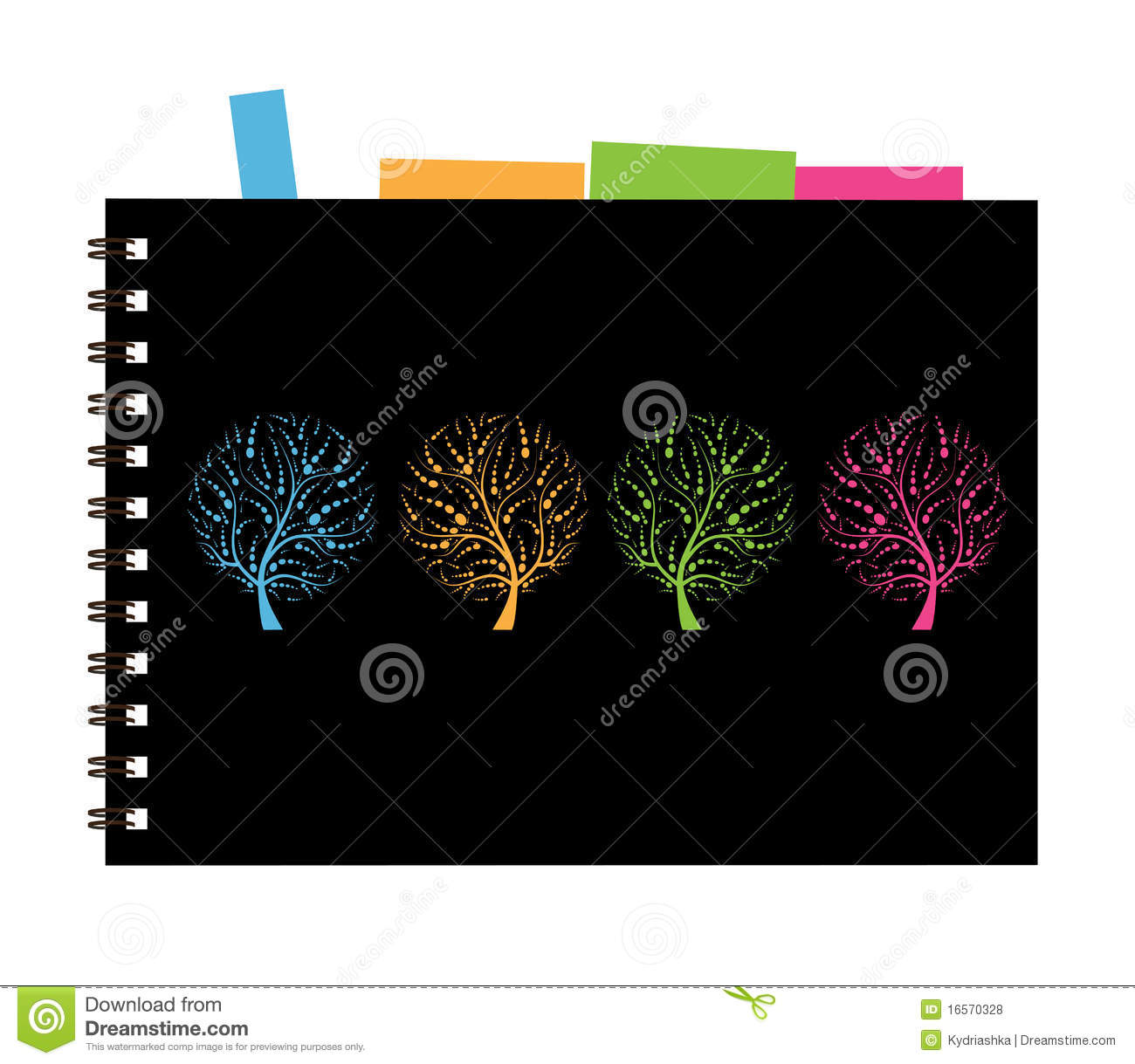 Notebook Cover Art ~ Notebook cover design art tree royalty free stock photos