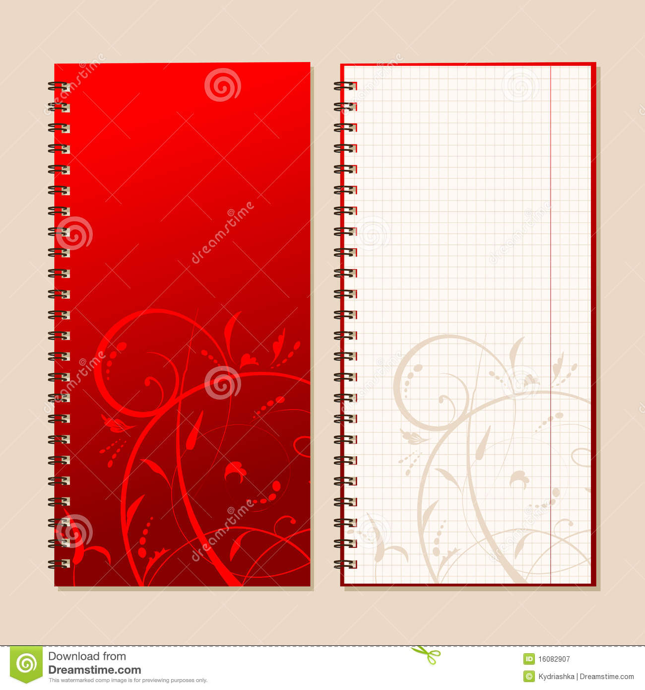 notebook cover page stock photography image  notebook cover and page for your design royalty stock photography