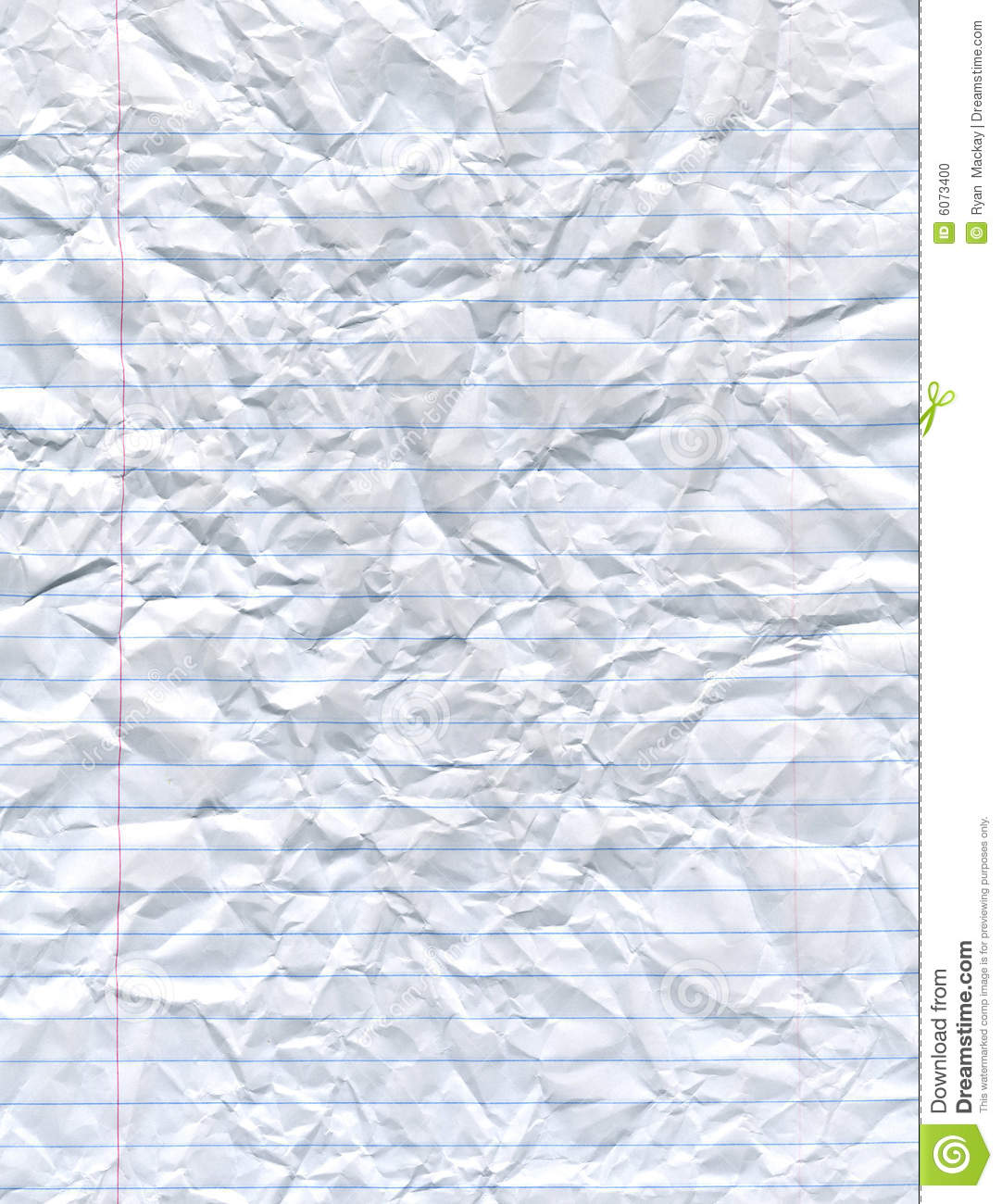 notebook paper stock photo. image of stationery, concept - 6073400