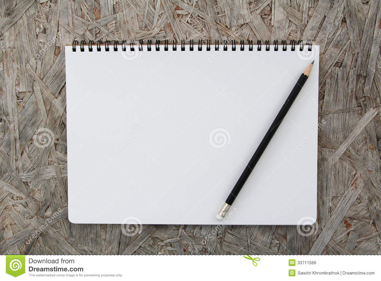 Notebook Paper On Wood Background Royalty Free Stock Image ...