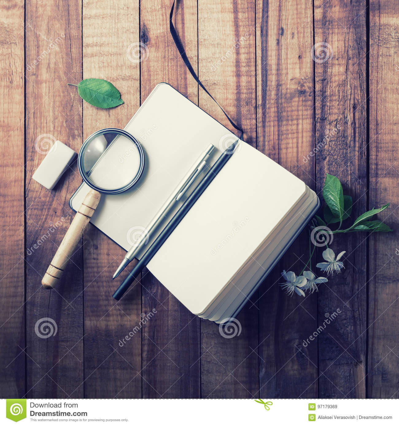 Notebook and stationery