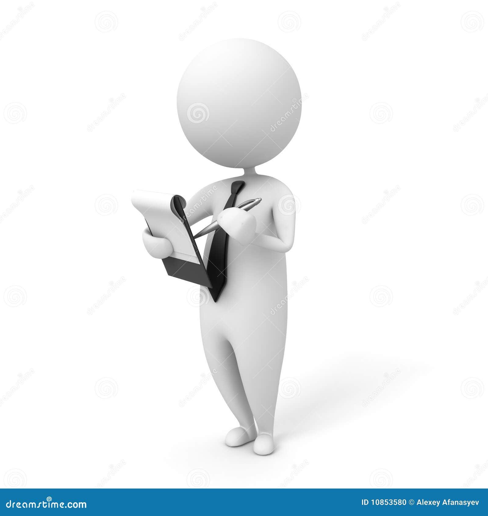 Pen Organizer Notepad Stock Illustration Image Of Learning Business