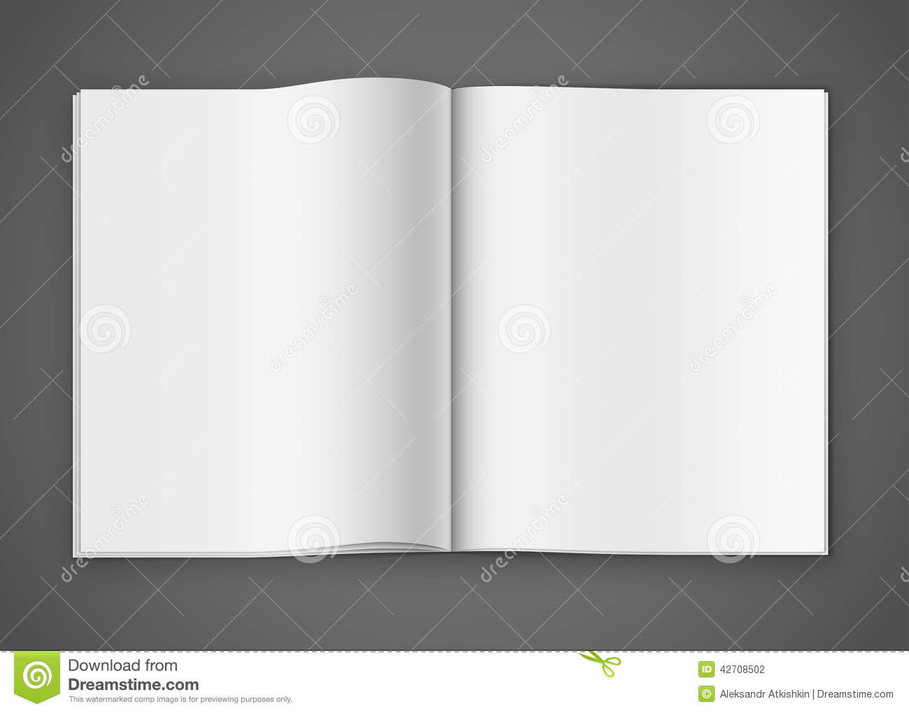 Notepad Template Stock Vector - Image: 42708502