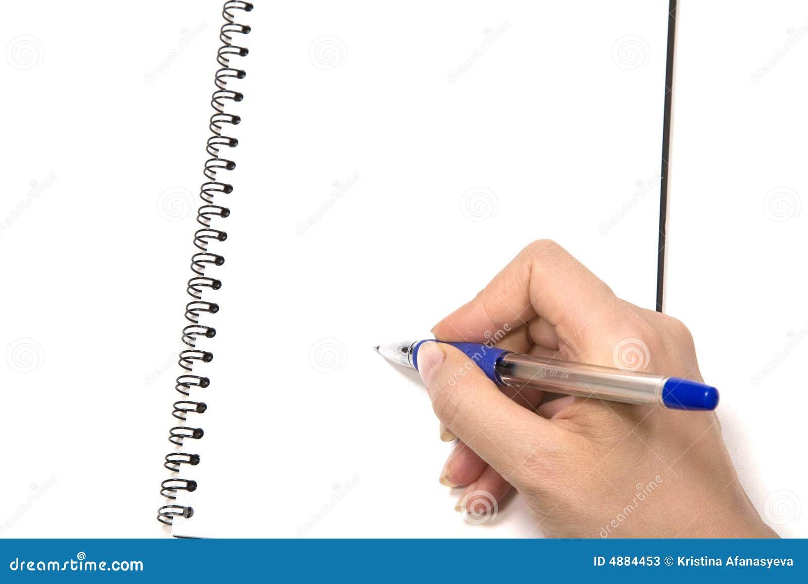 notepad writing stock photos